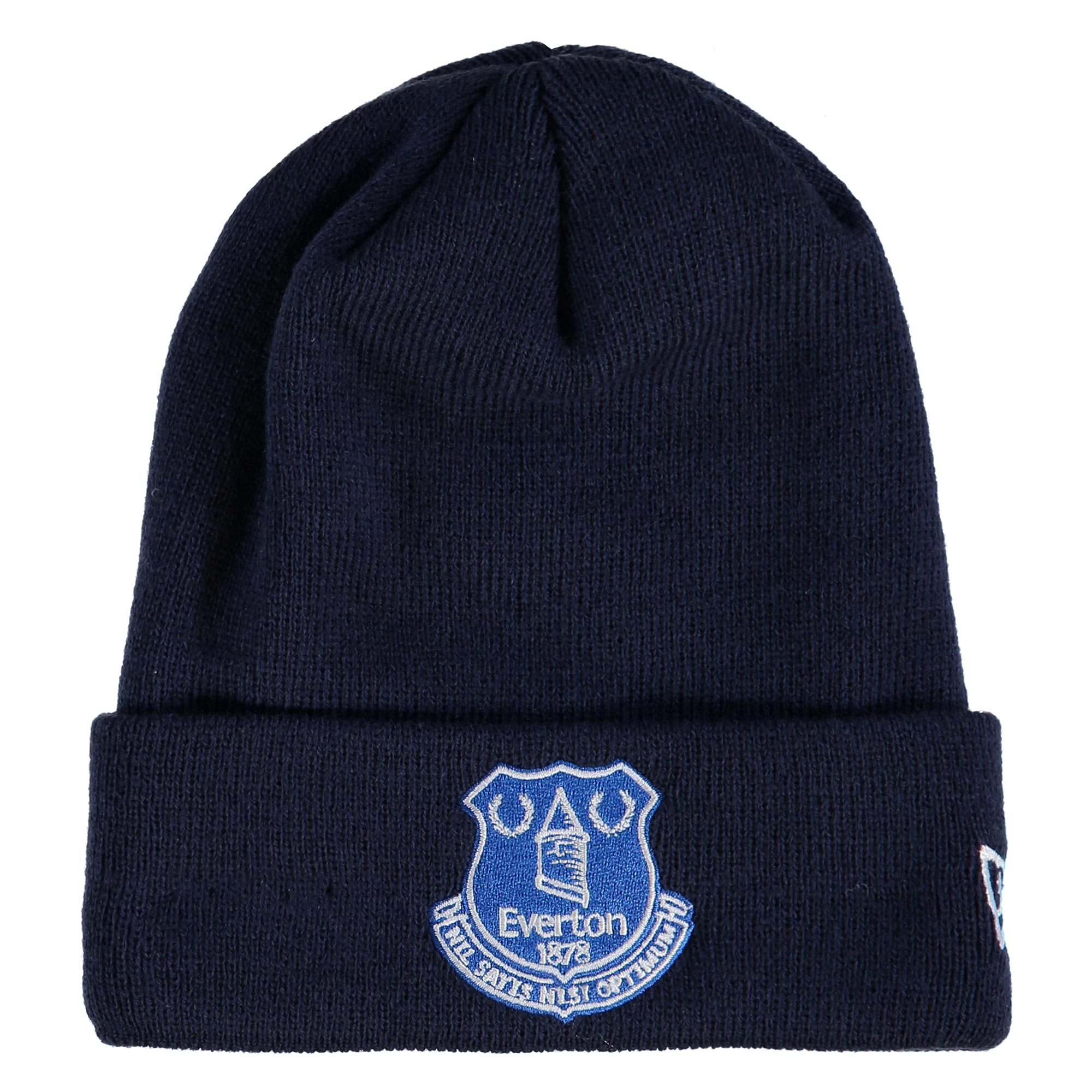 Everton New Era Core Cuff Beanie - Navy - Junior