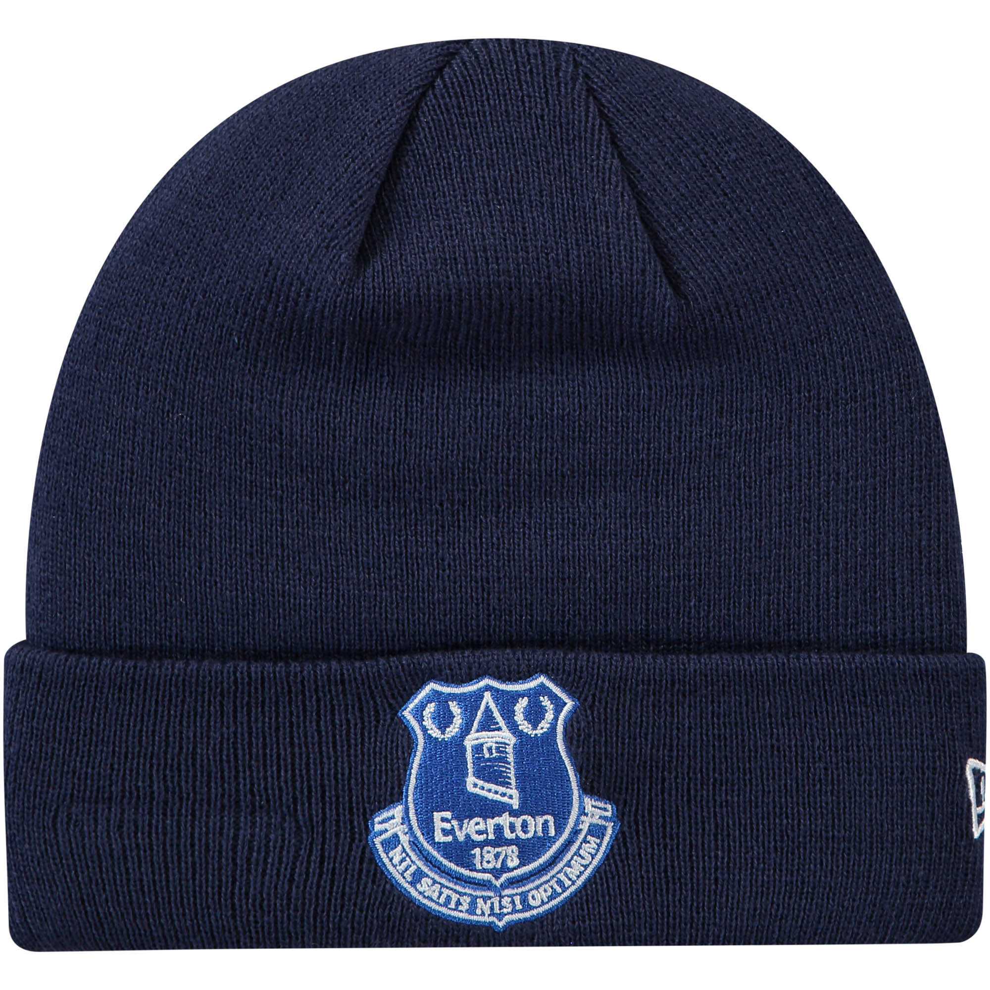 Everton New Era Core Cuff Beanie - Navy