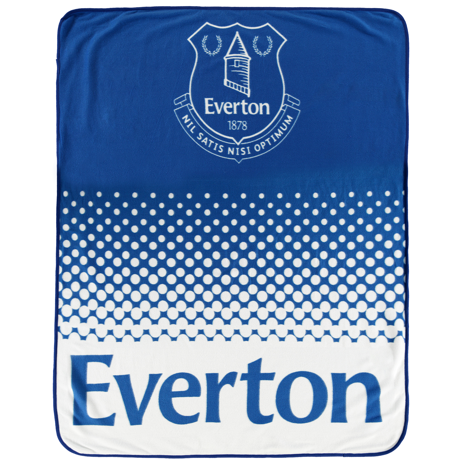 Everton Fade Fleece Blanket
