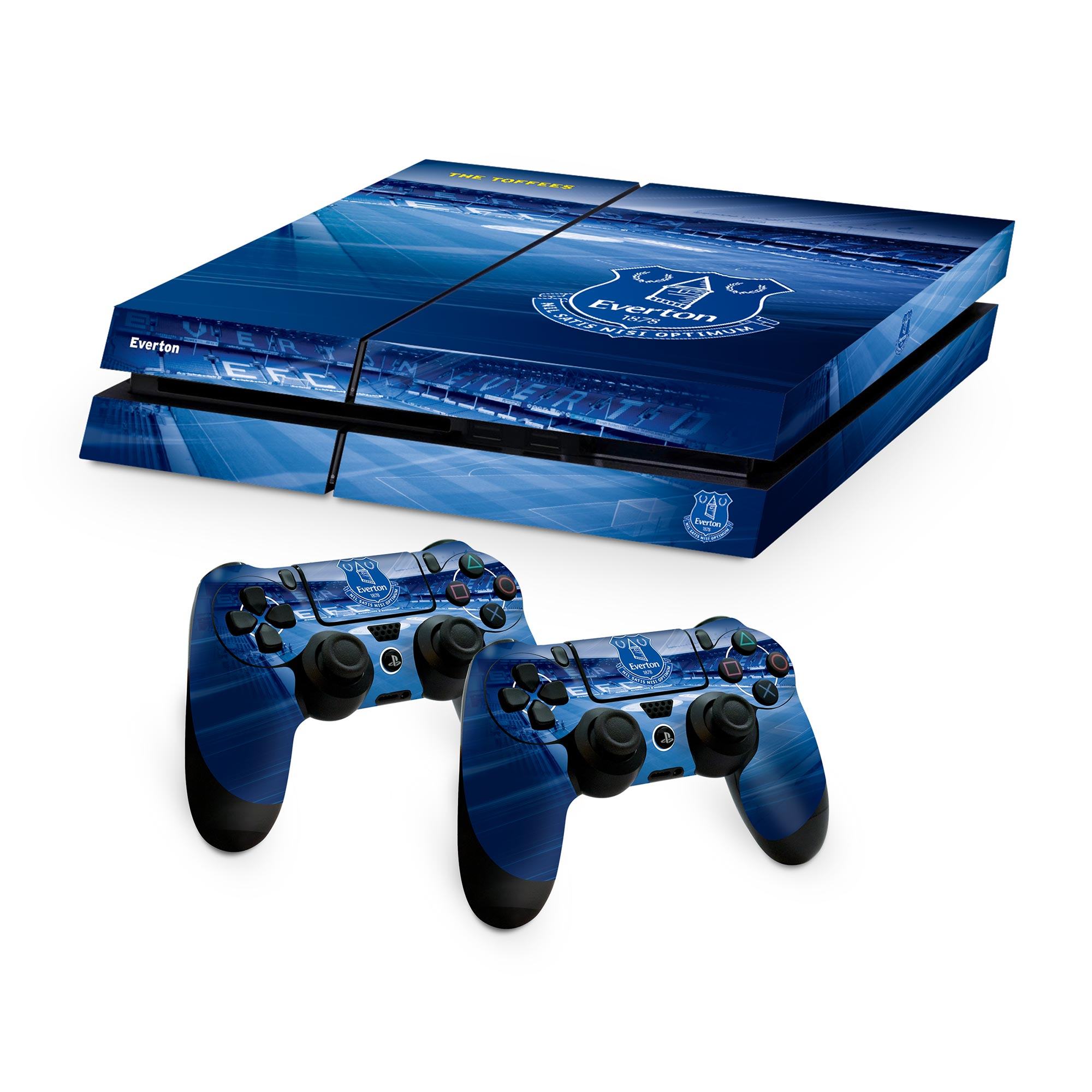 Everton PS4 Controller and Console Skin Set