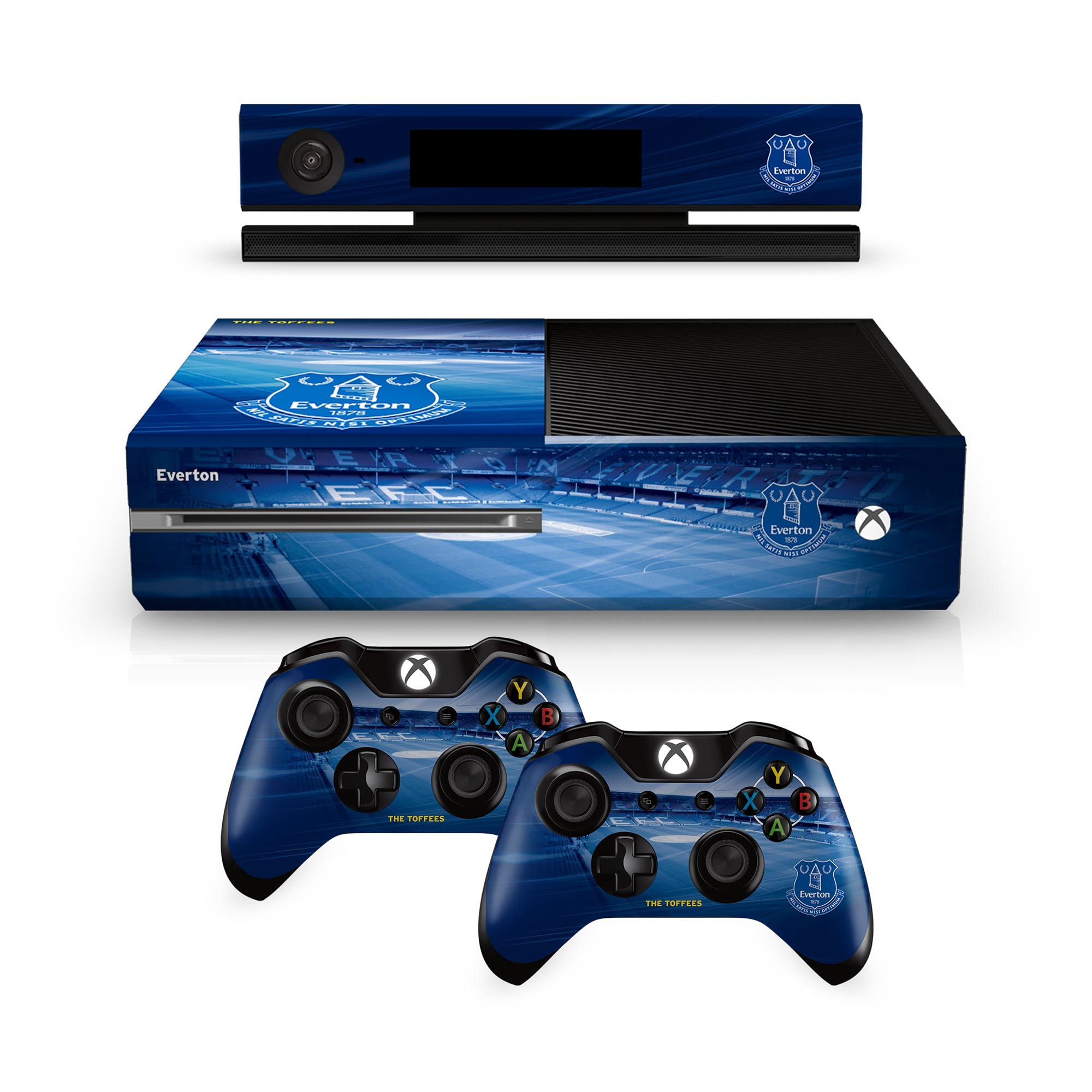 Everton Xbox One Controller and Console Skin Set