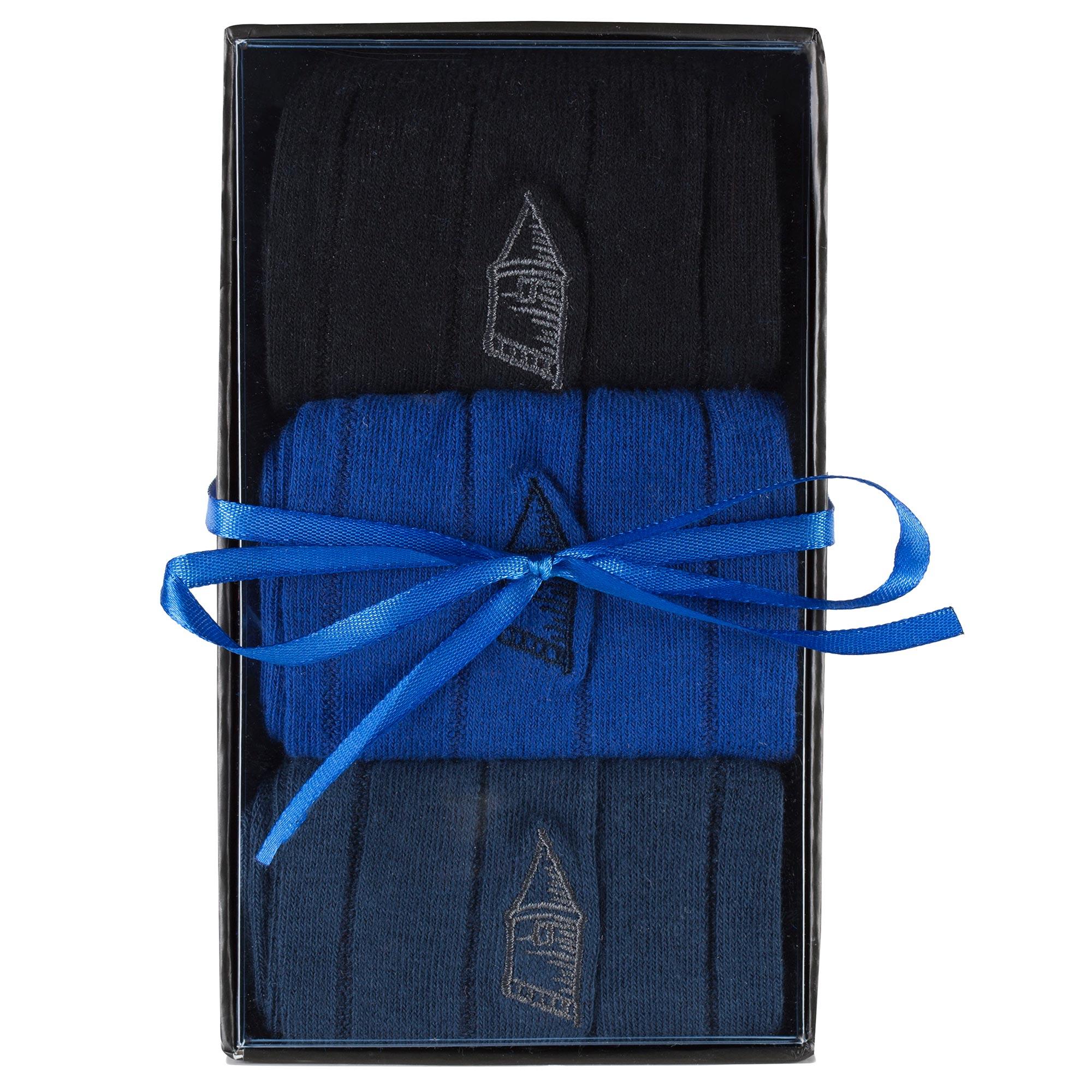 Everton Gift Boxed 3 Pack Dress Socks