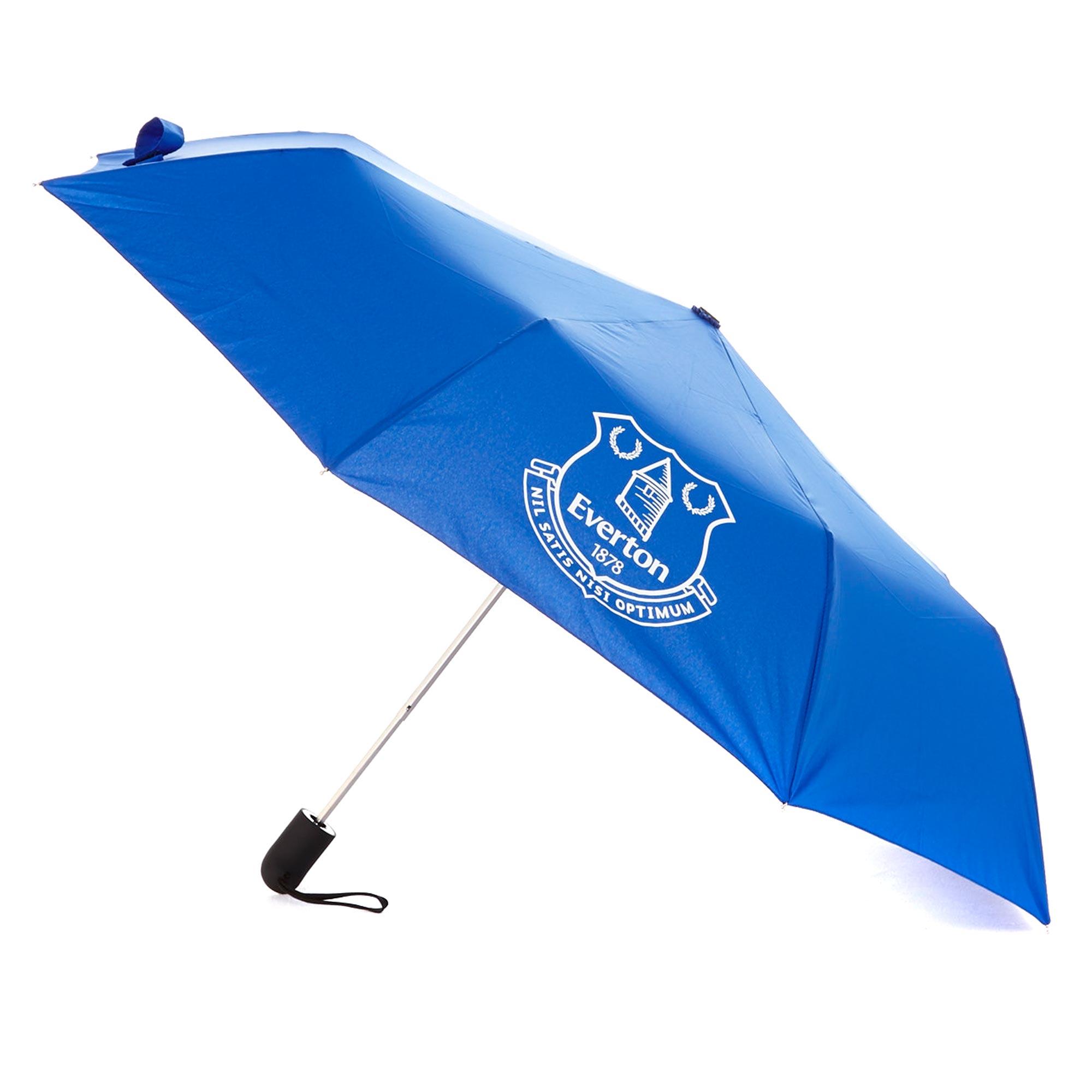 Everton Mini Automatic Umbrella and Sleeve