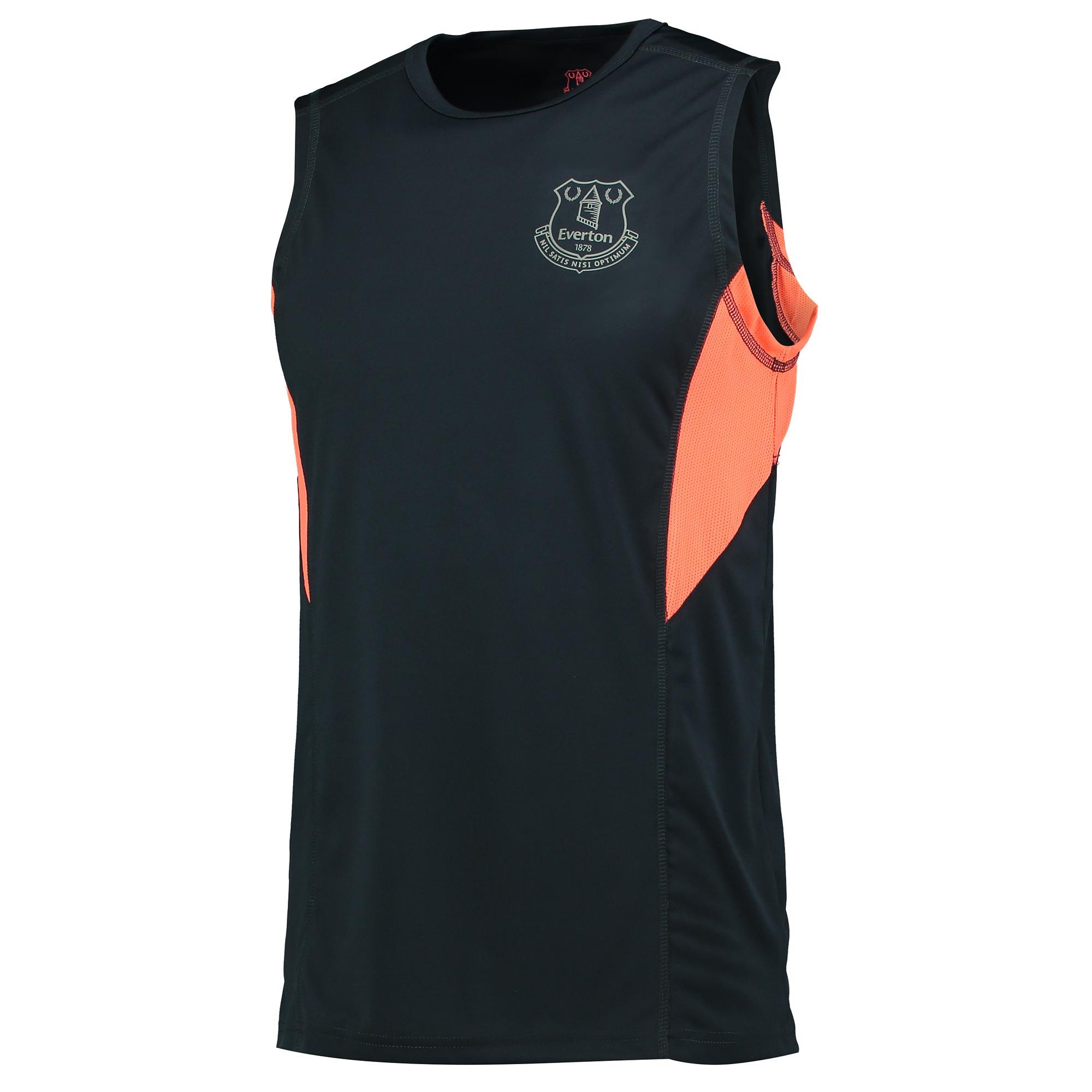 Everton Sport Poly Vest - Coral