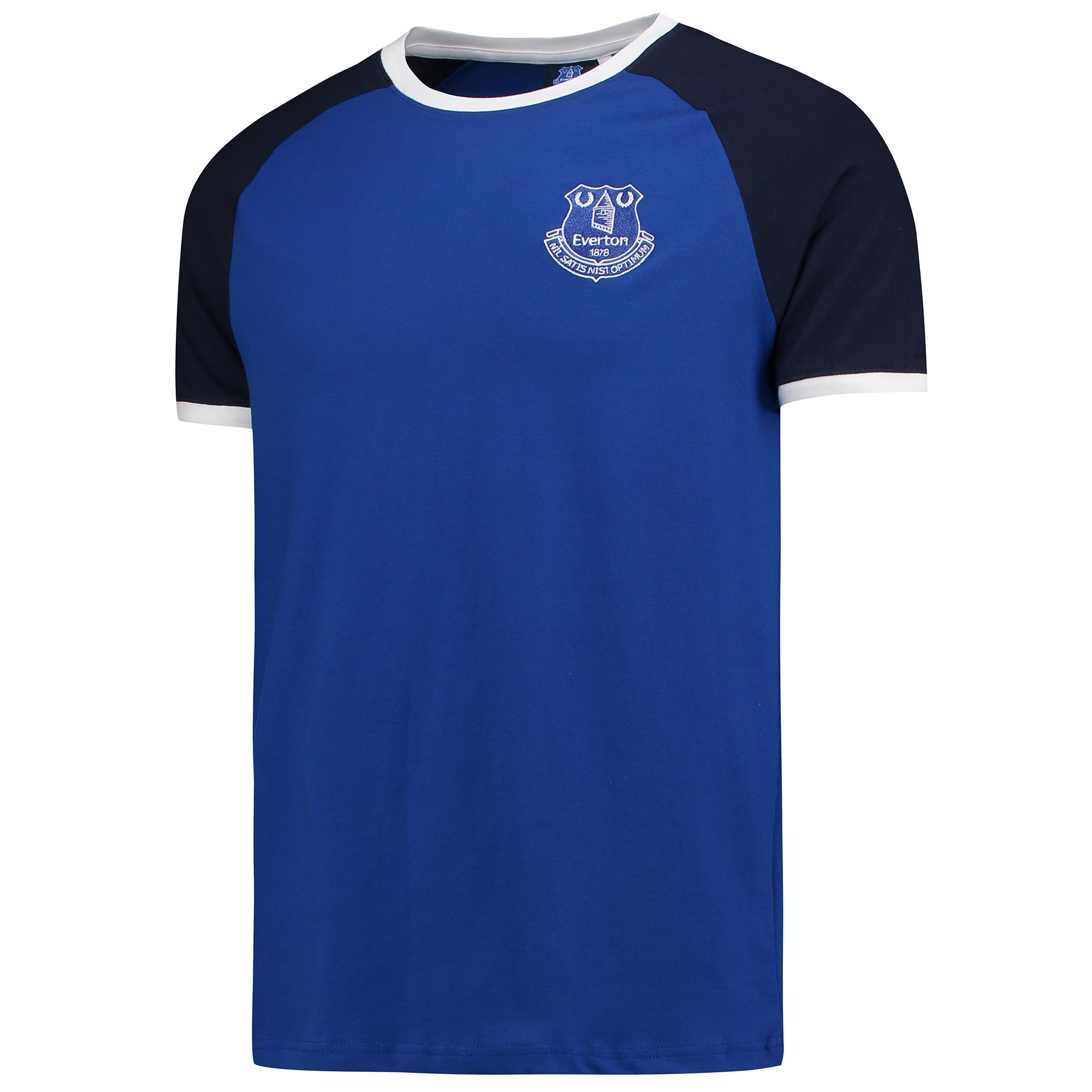 Everton Raglan T-Shirt - Royal
