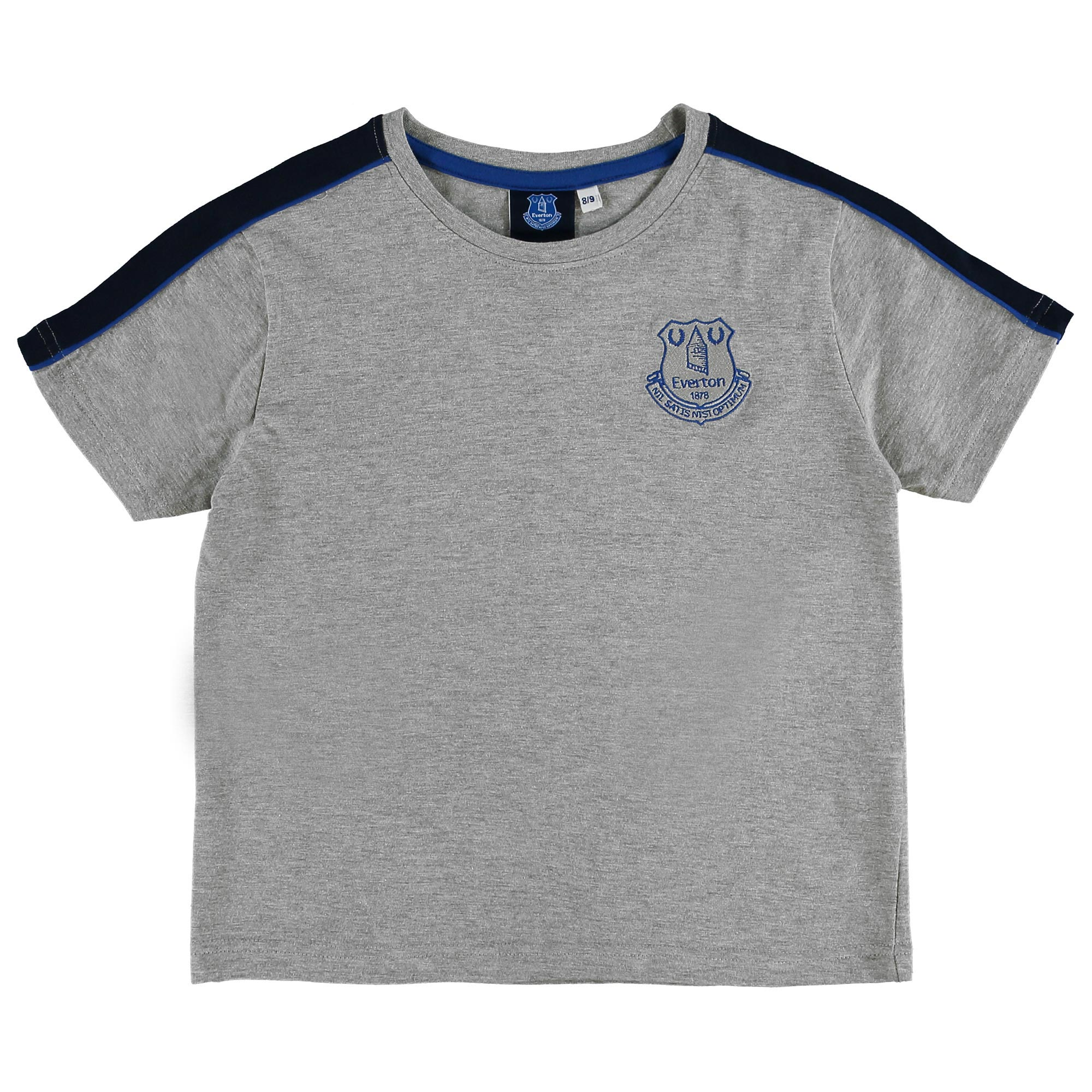 Everton T-Shirt - Grey Marl - Junior