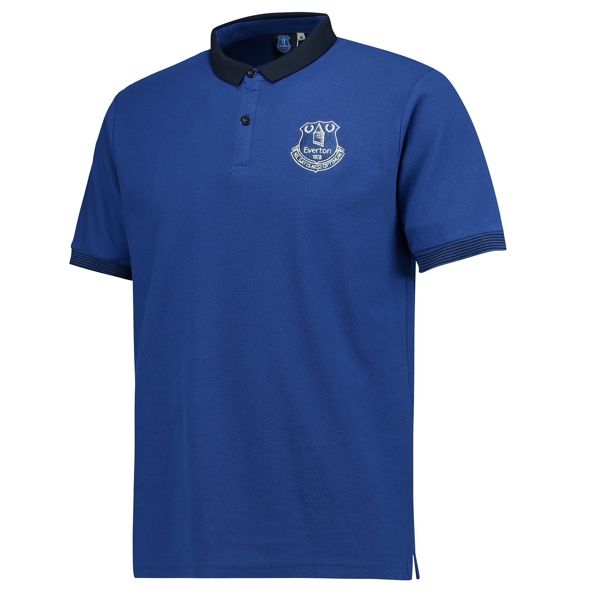 Everton Slim Fit Mini Collar Polo - Royal