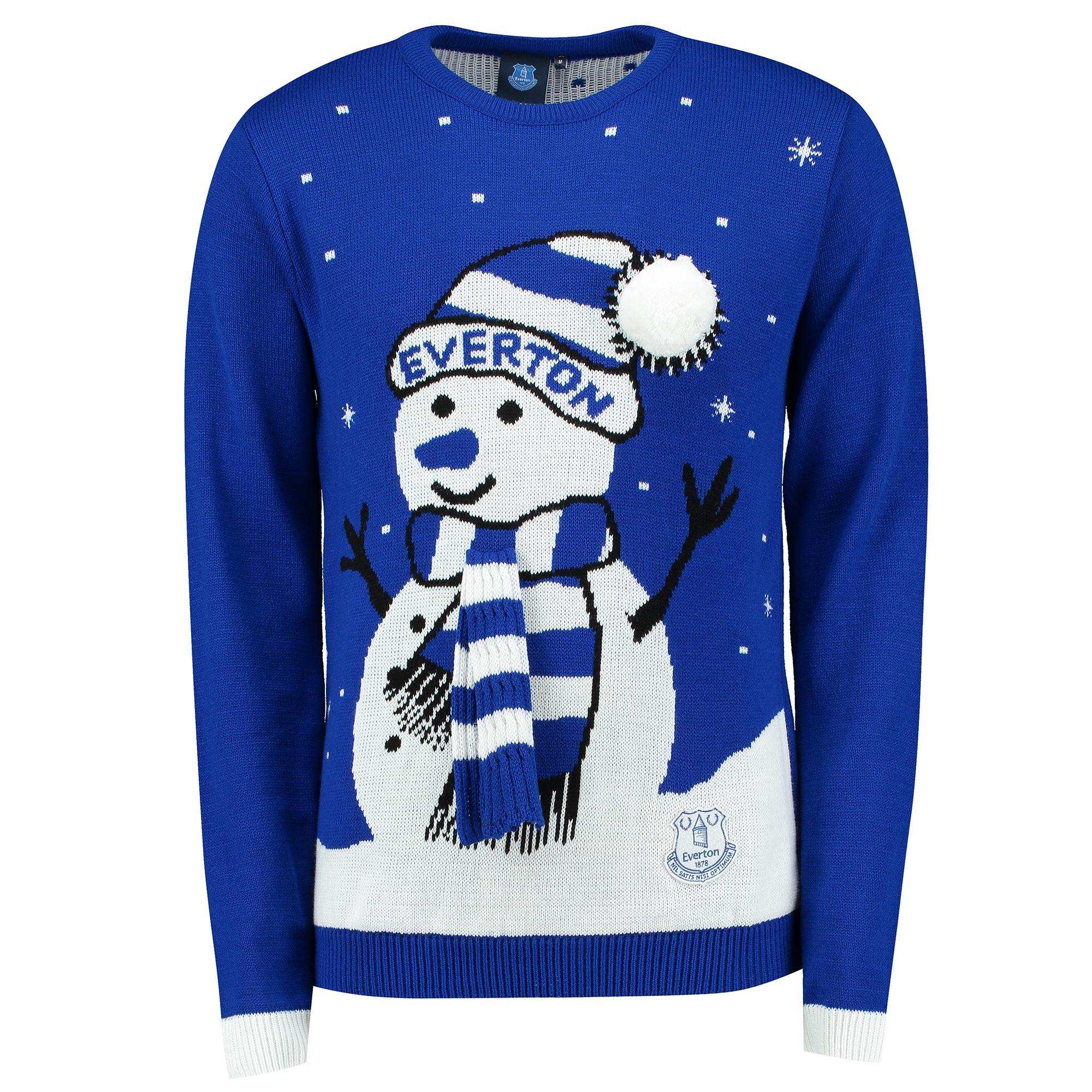 Everton Christmas Jumper - Junior