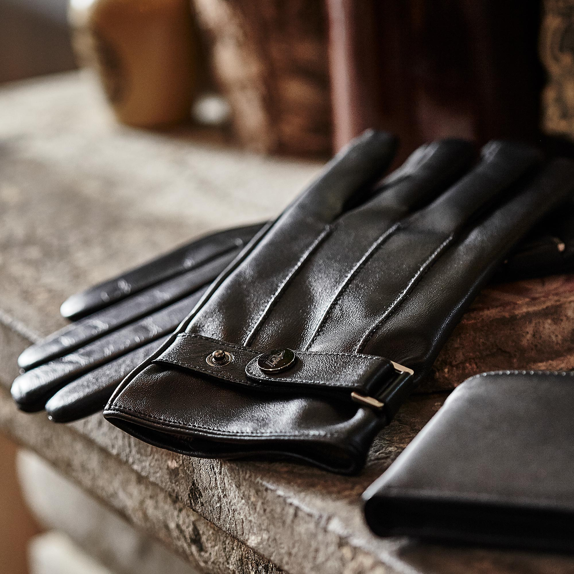 Everton 1878 Leather Gloves