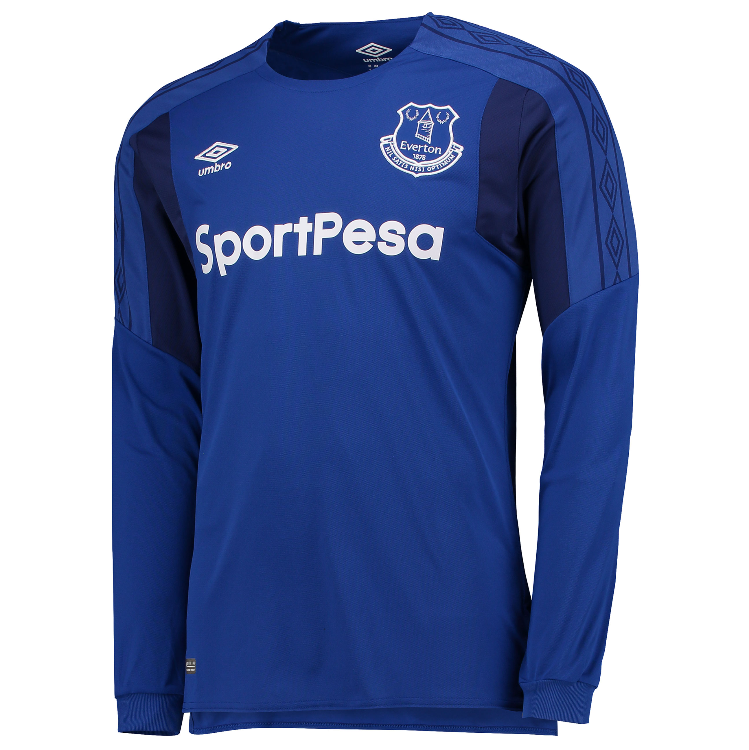 Everton Home Shirt 2017/18 - Long Sleeved