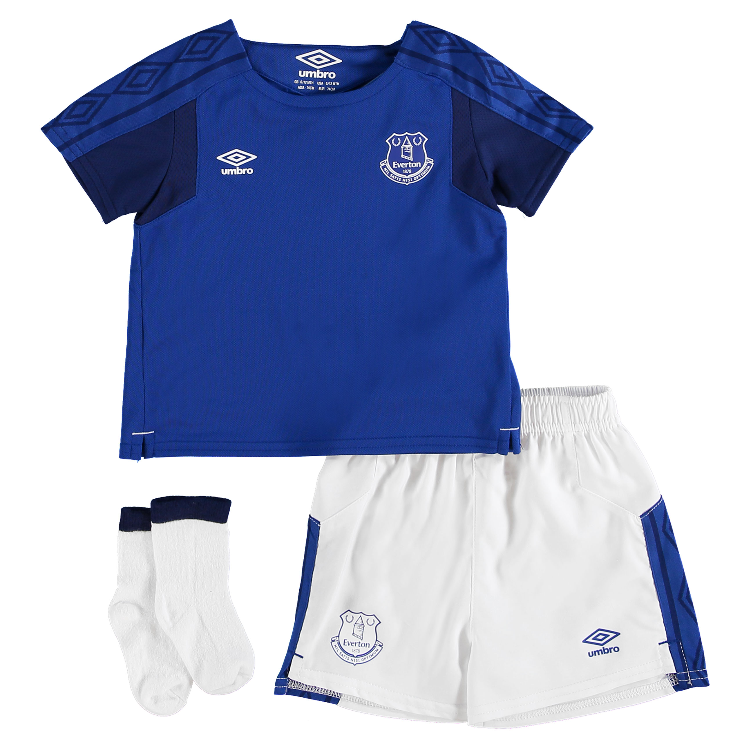 Everton Home Baby Kit 2017/18