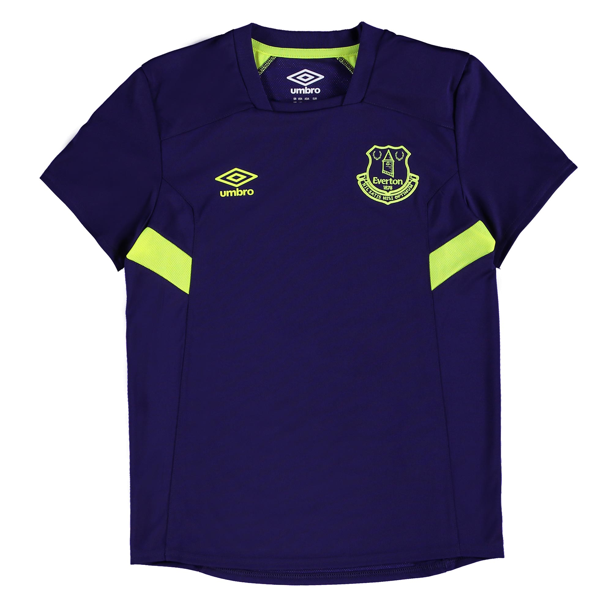 Everton Training Jersey - Junior - Parachute Purple/Safety Yellow