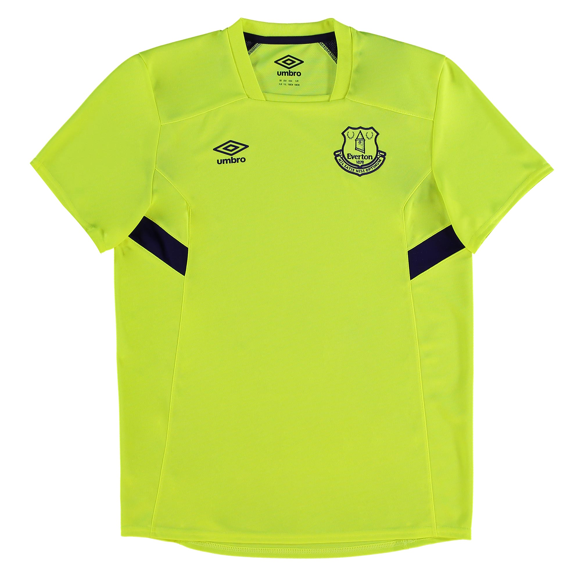 Everton Training Jersey - Junior - Safety Yellow/Parachute Purple