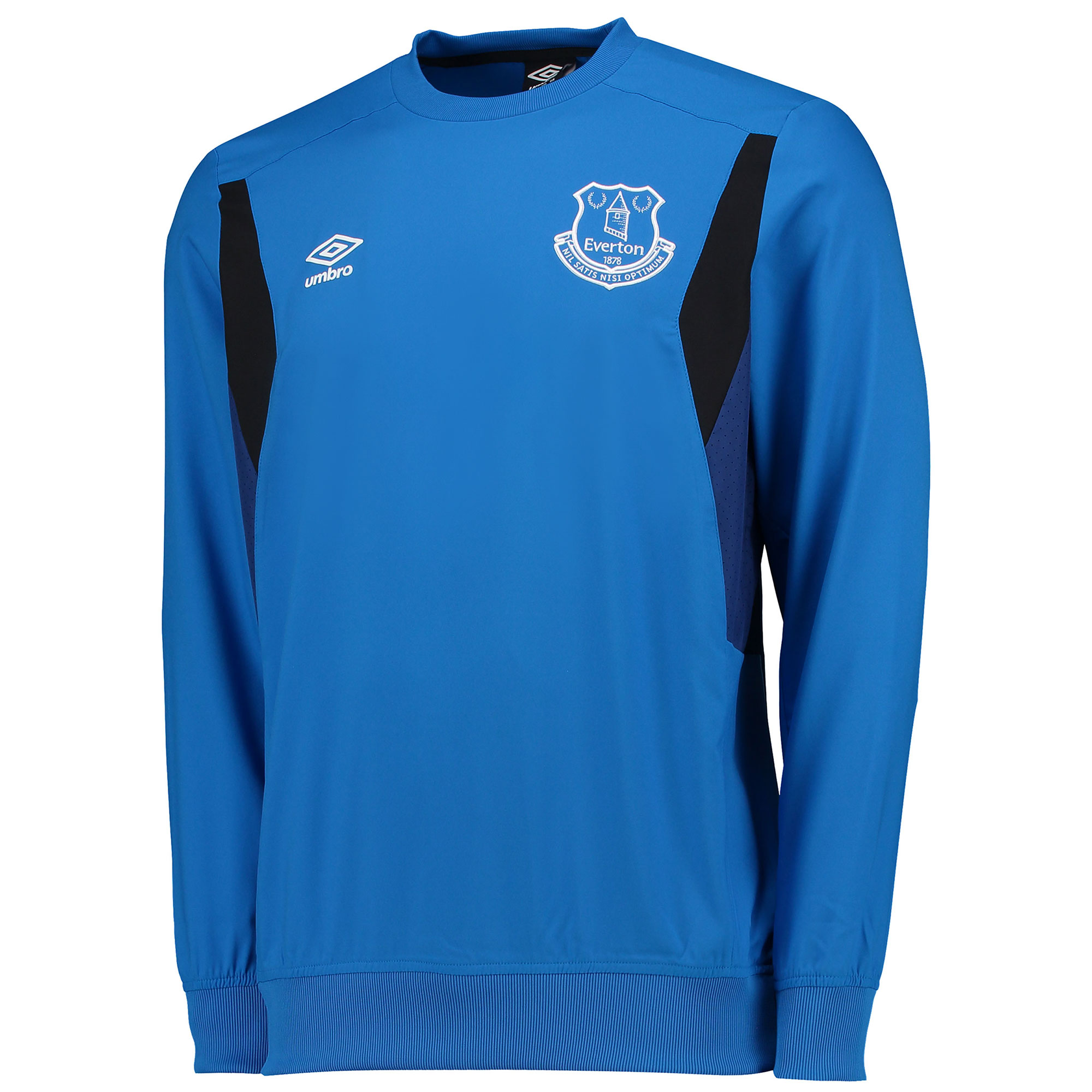Everton Training Drill Top - Junior - Electric Blue/Sodalite Blue/Blac