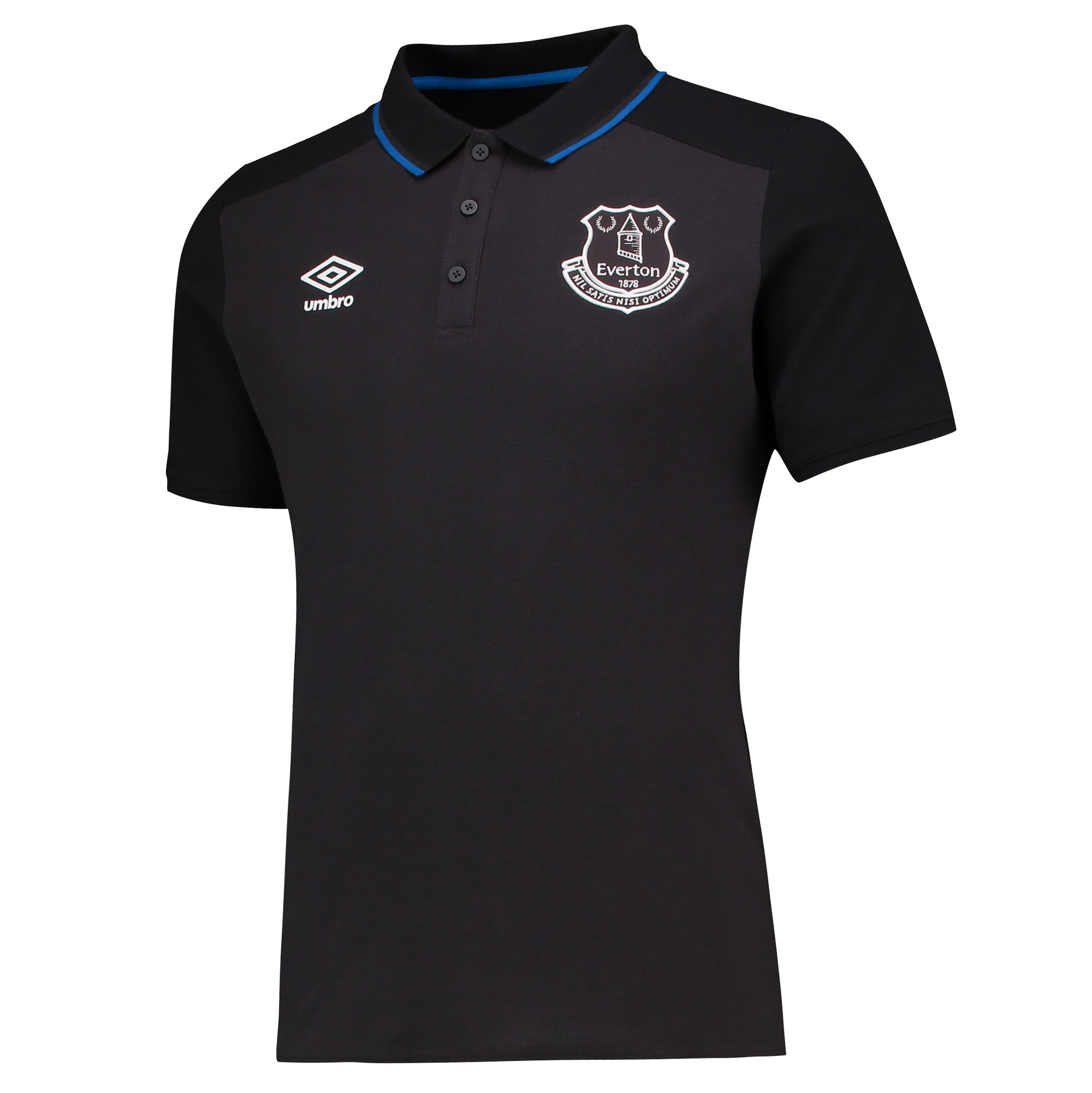 Everton Training CVC Polo - Junior - Phantom/Black