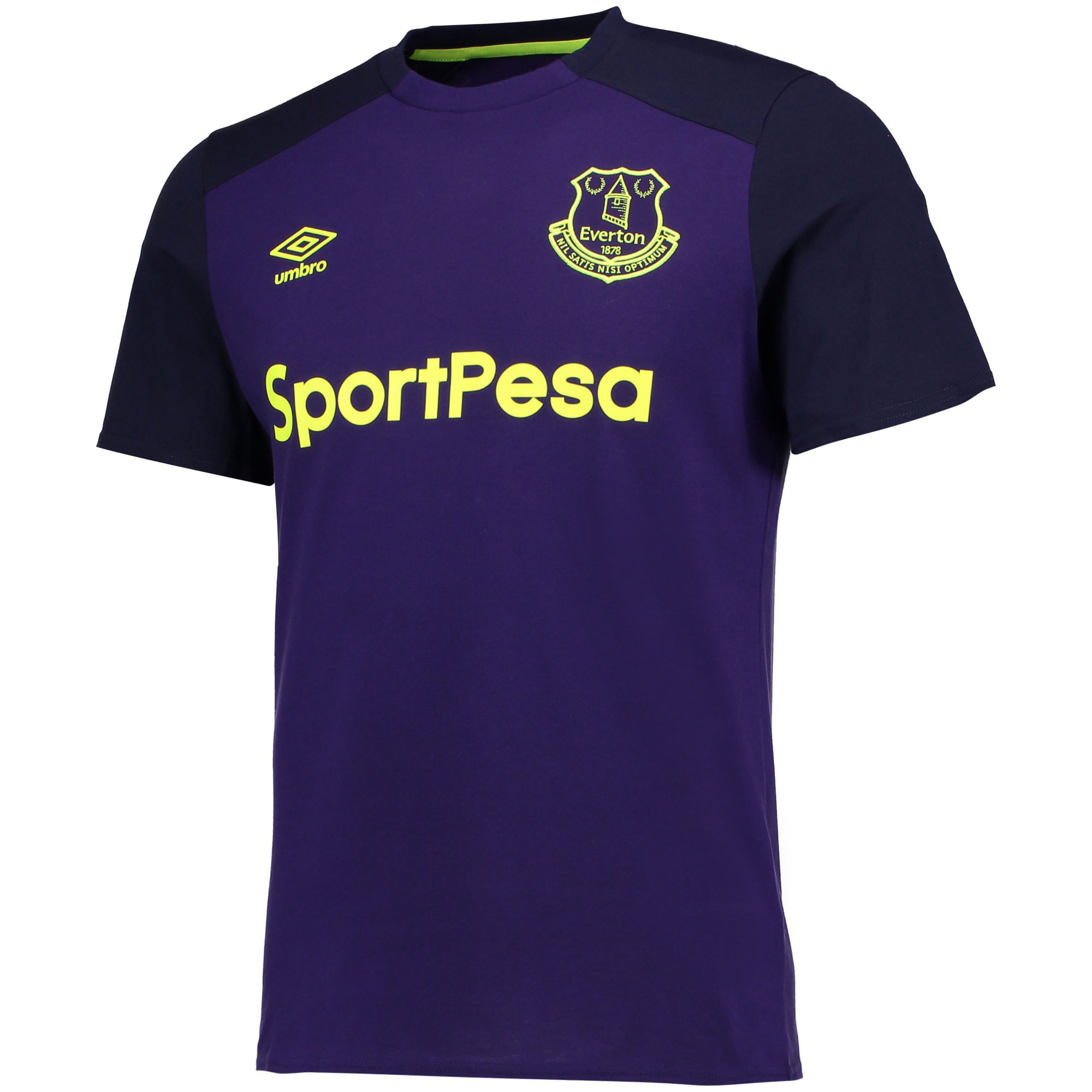 Everton Training CVC Tee - Parachute Purple/Evening Blue
