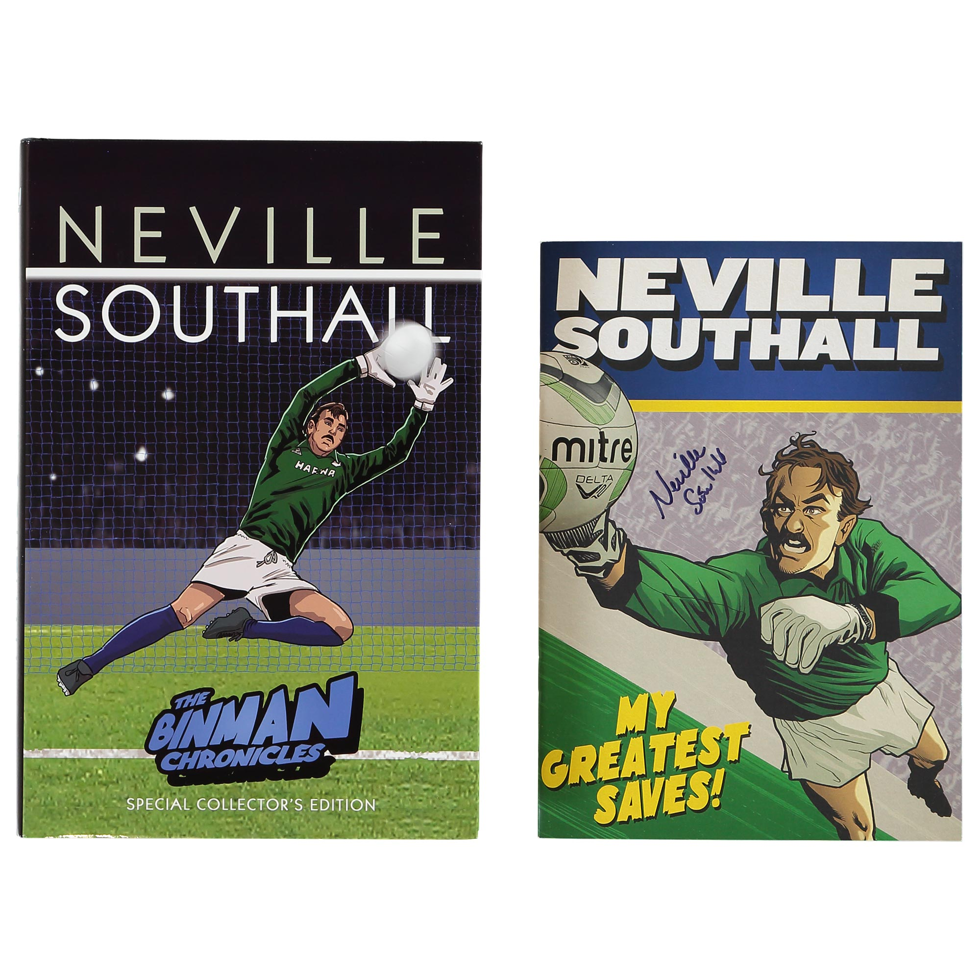 Everton Neville Southall The Binman Chronicles Book - Special Signed E