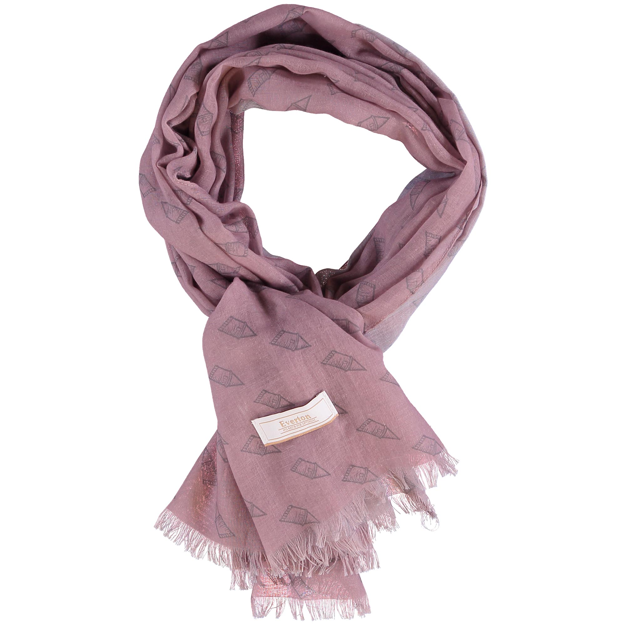 Everton Luxe Dress Scarf - Blush - Womens