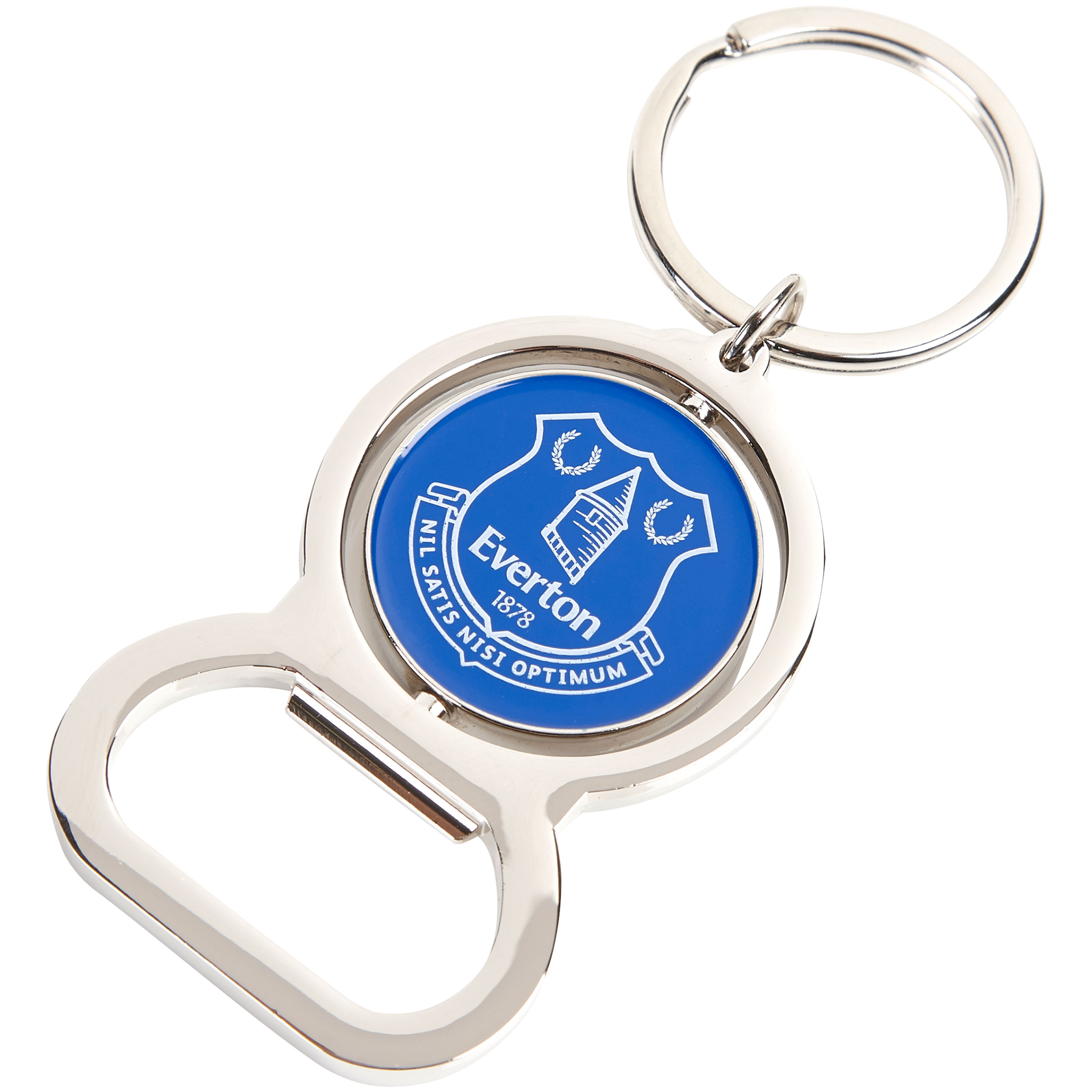 Everton Spinner Bottle Opener Keyring