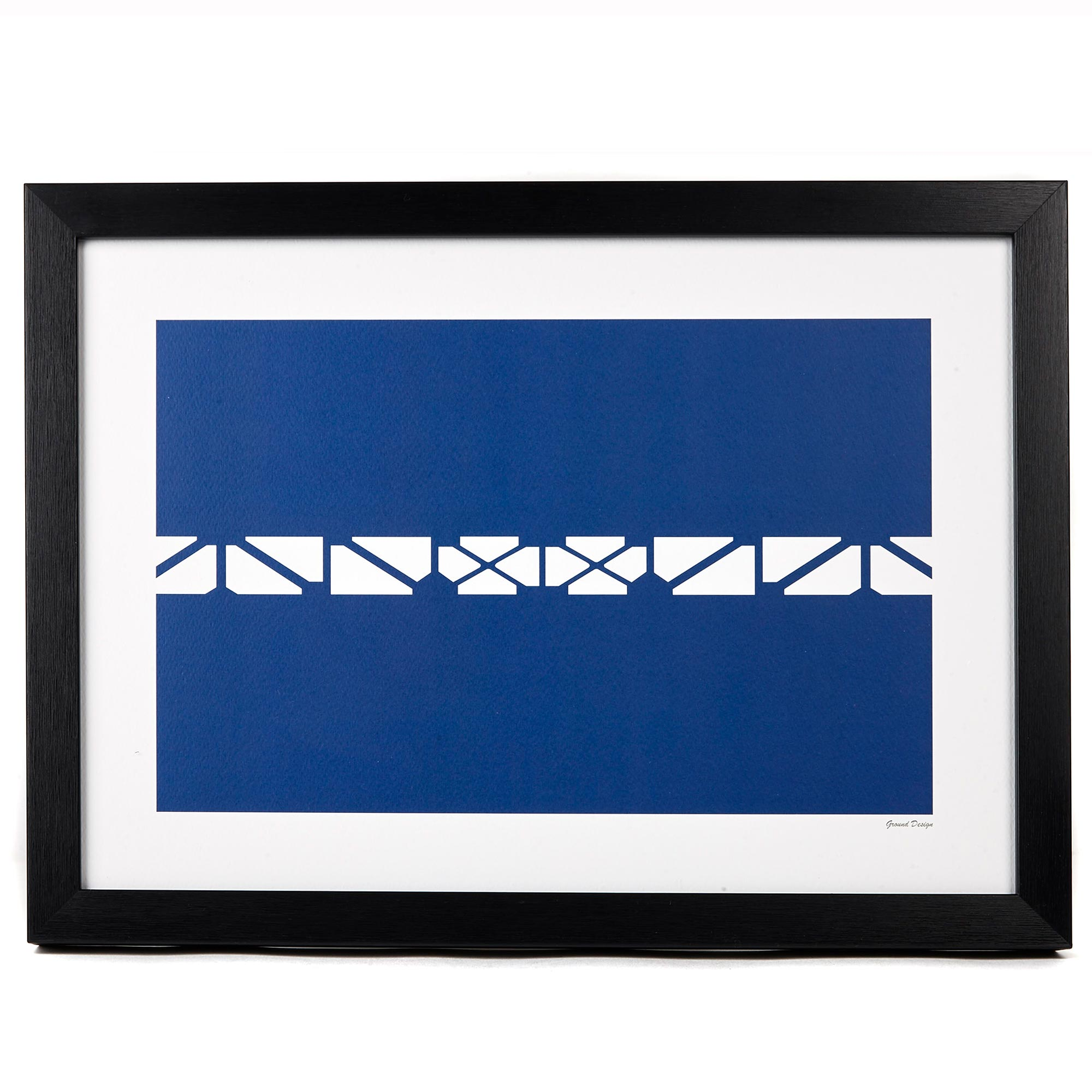 Everton Bullens Road Balcony A3 Art Print - Framed
