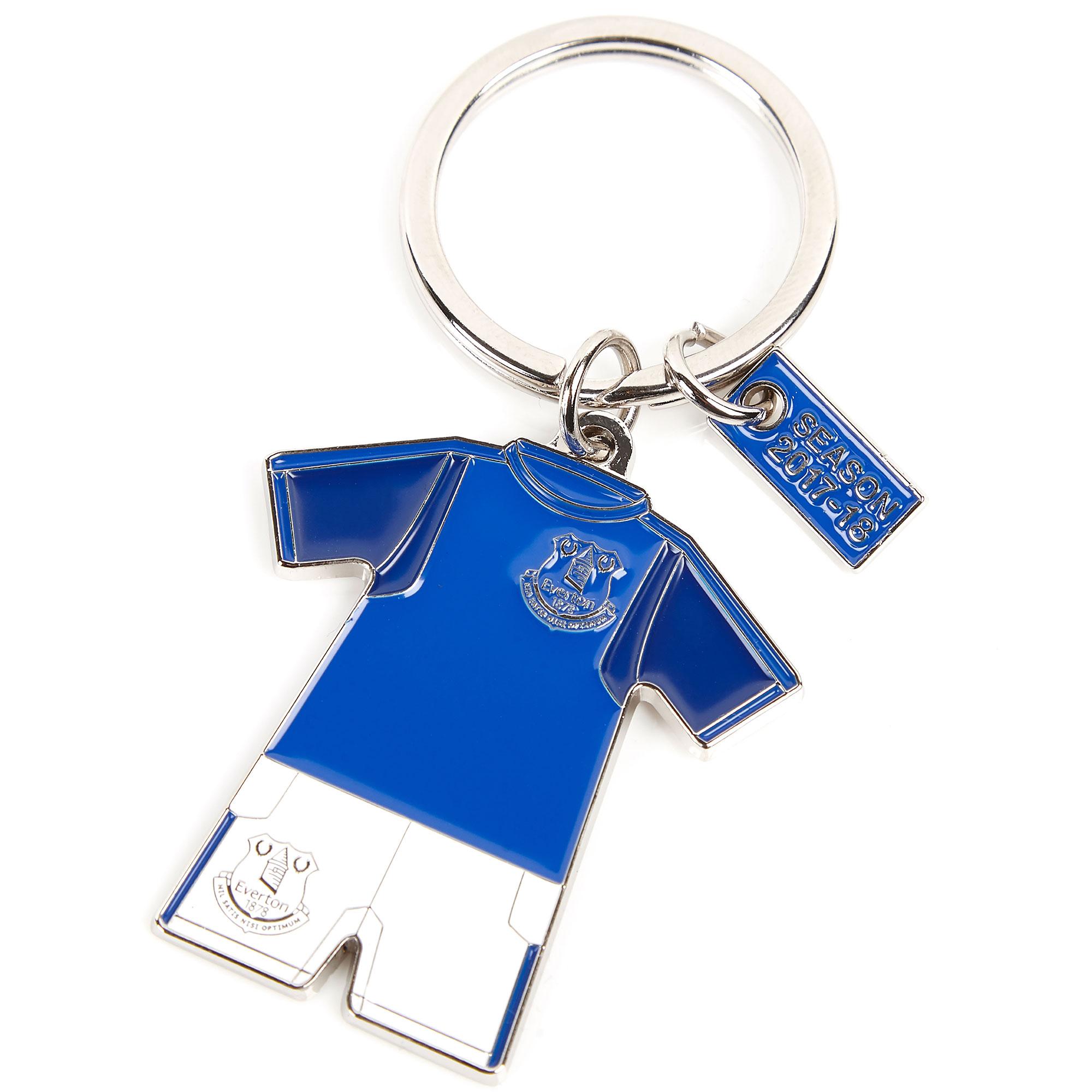 Everton Home Kit Keyring 2017/18
