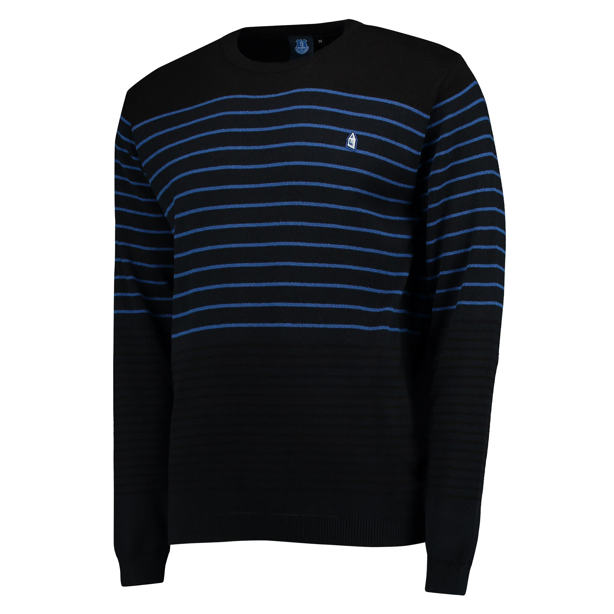 Everton Terrace Stripe Knit - Navy