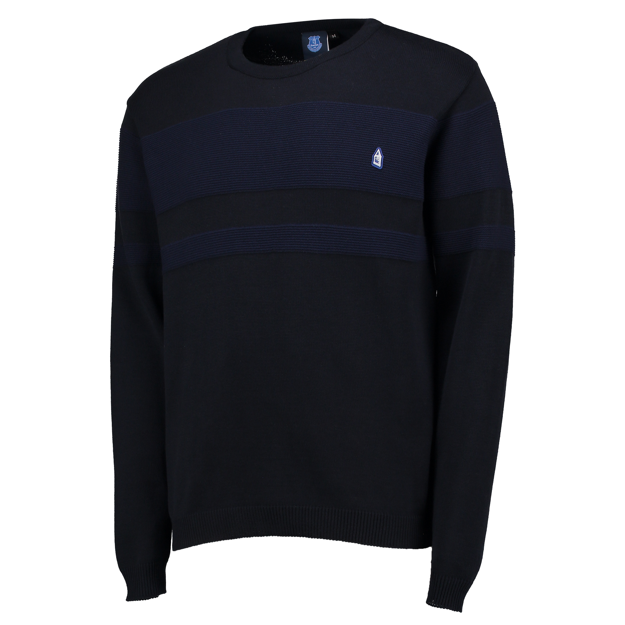 Everton Terrace Texture Knit - Navy
