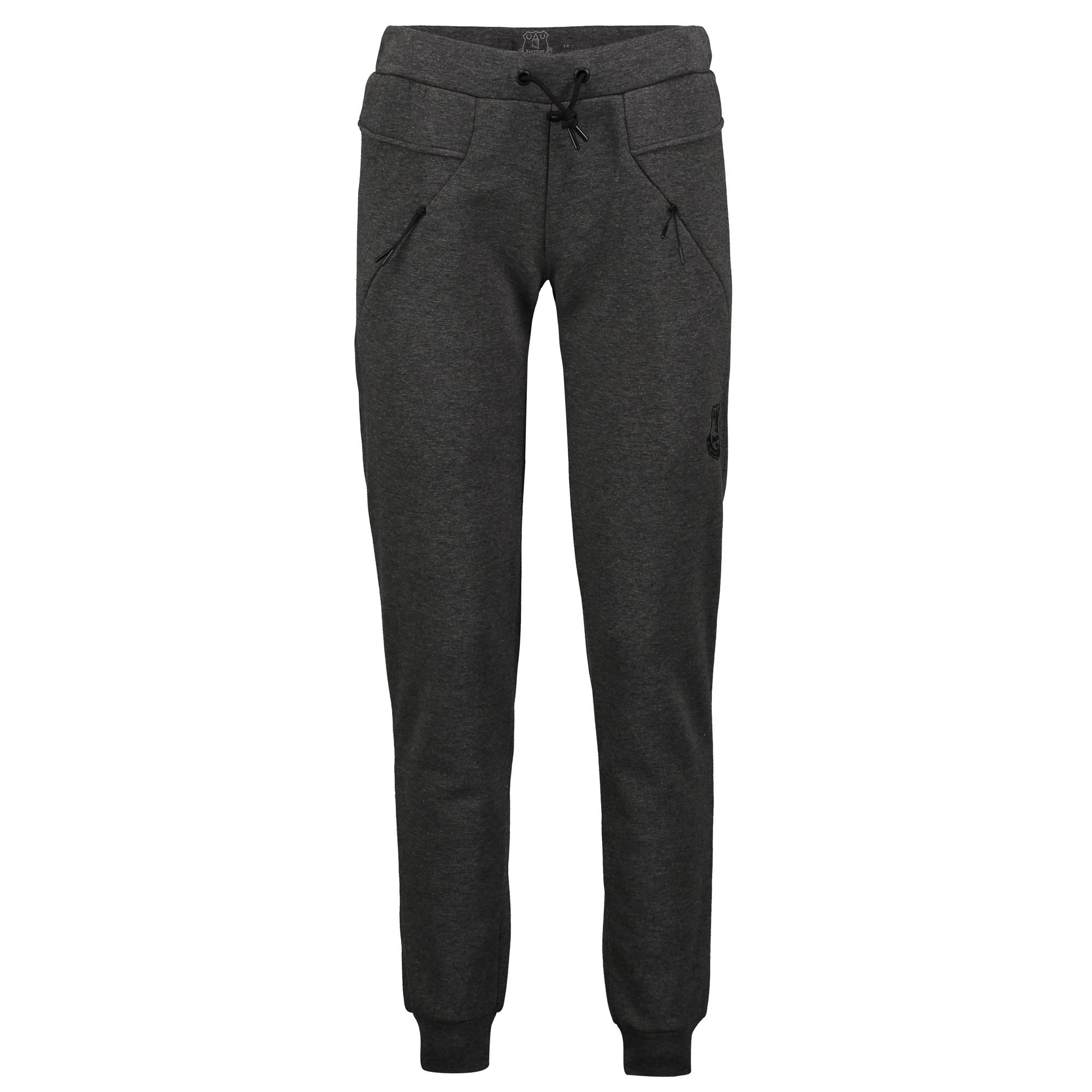 Image of Everton Ath Tech Fleece Jogger - Charcoal Marl - Womens