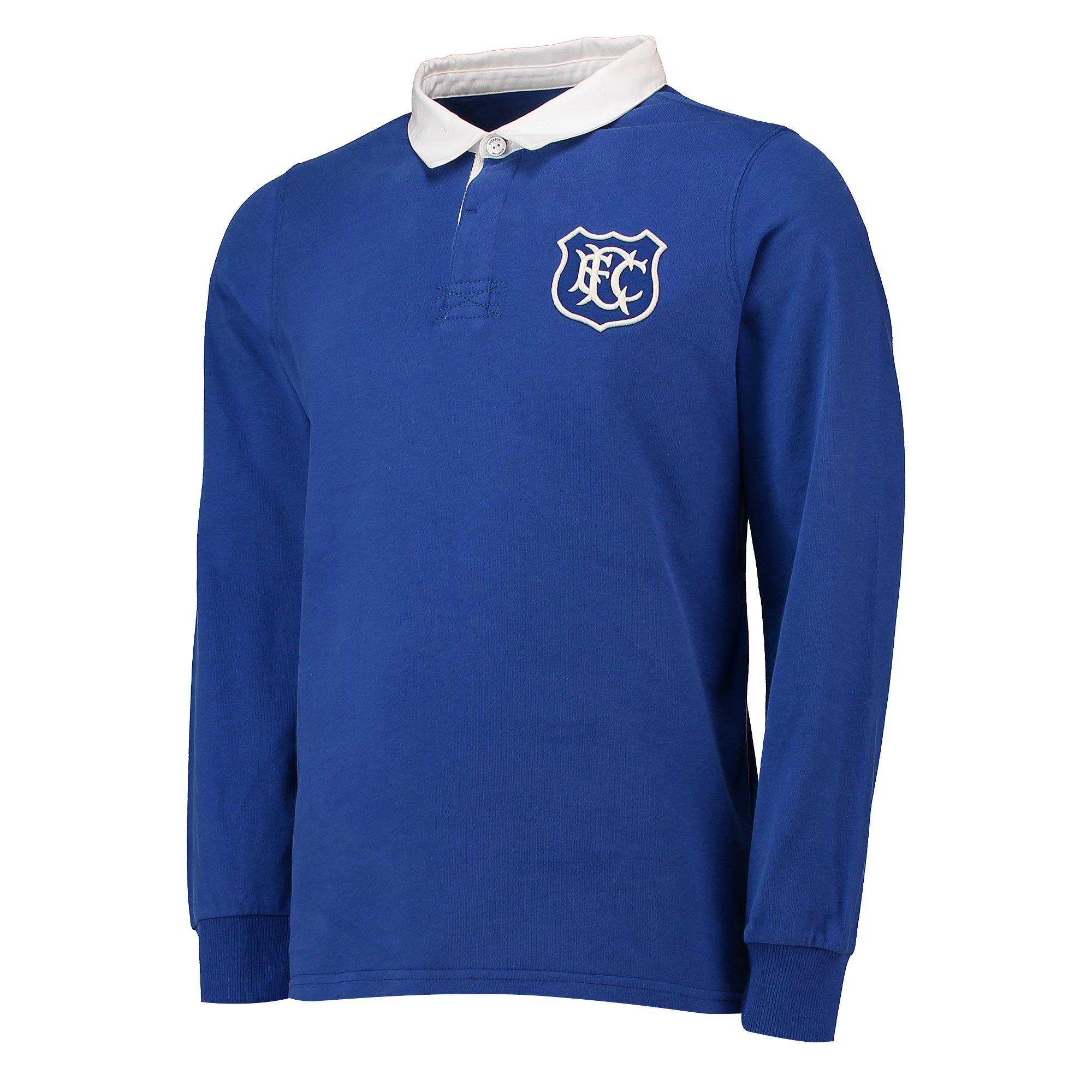 Everton Goodison 1920 Ruby Shirt - Royal - Men