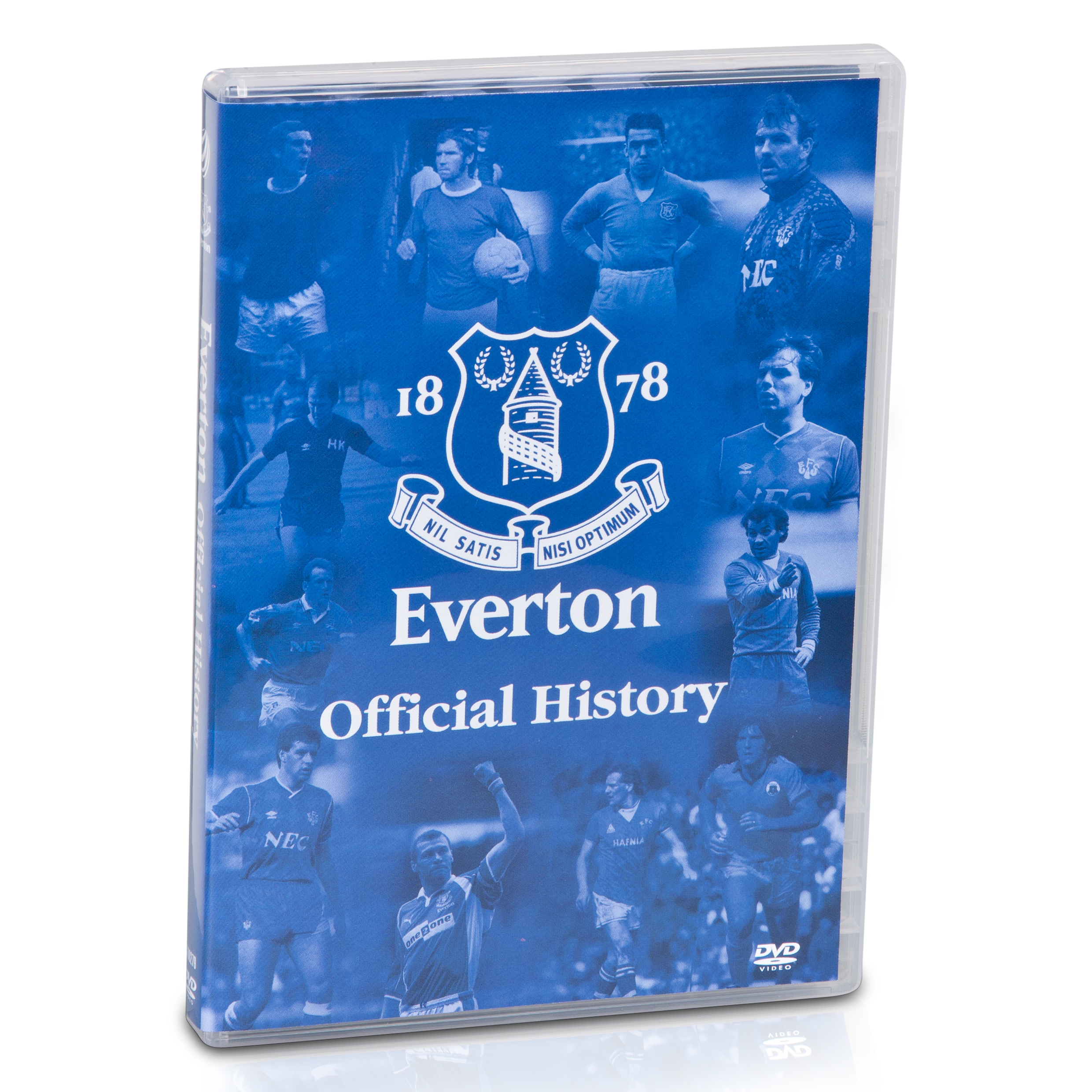 Everton - The Official History DVD