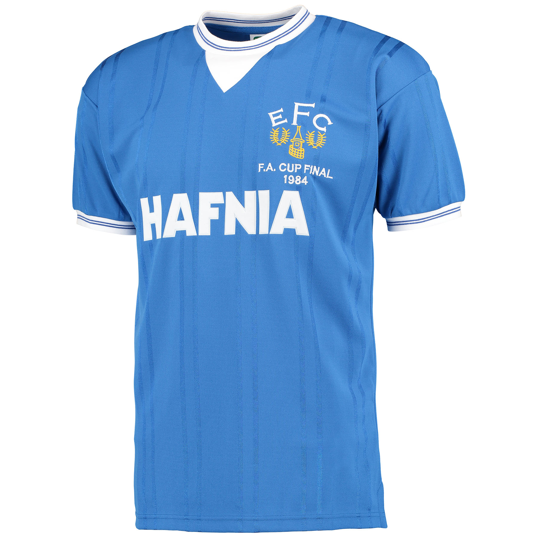 Everton 1984 FA Cup Final Shirt - Blue