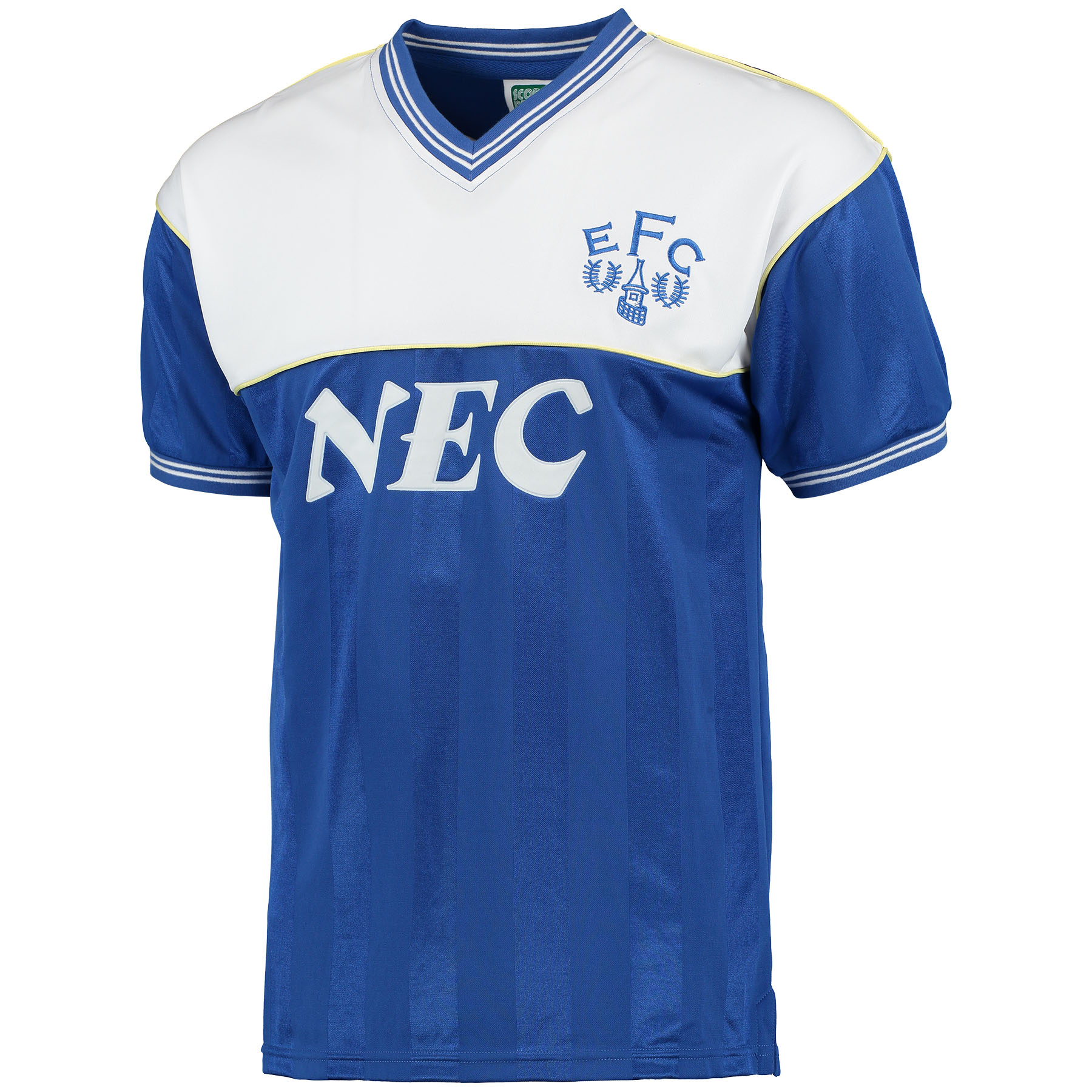 Everton 1986 Shirt - Blue/White