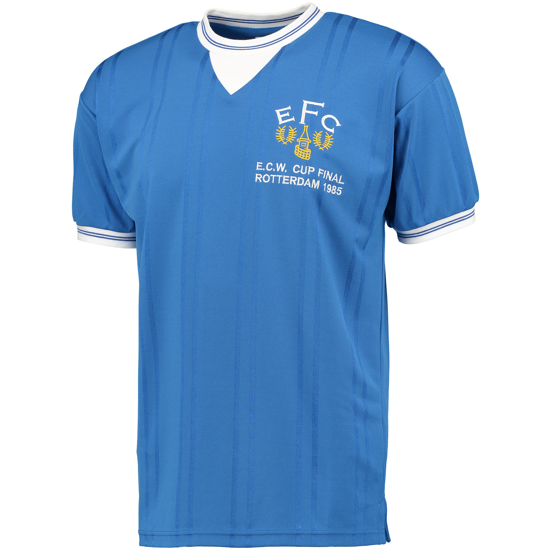 Image of Everton 1985 European Cup Winners Cup Final Shirt