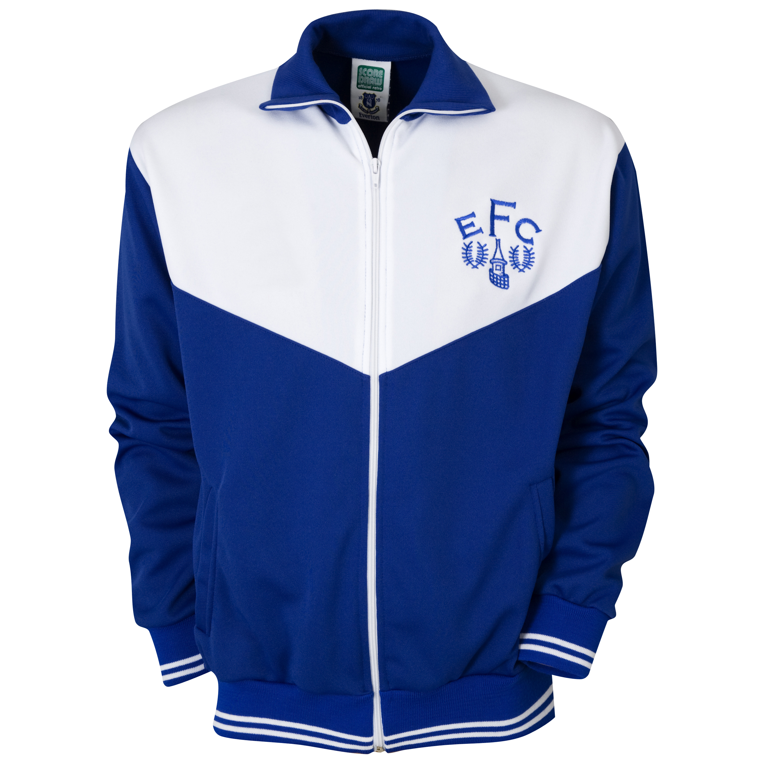 Everton 1986 Track Jacket - Blue