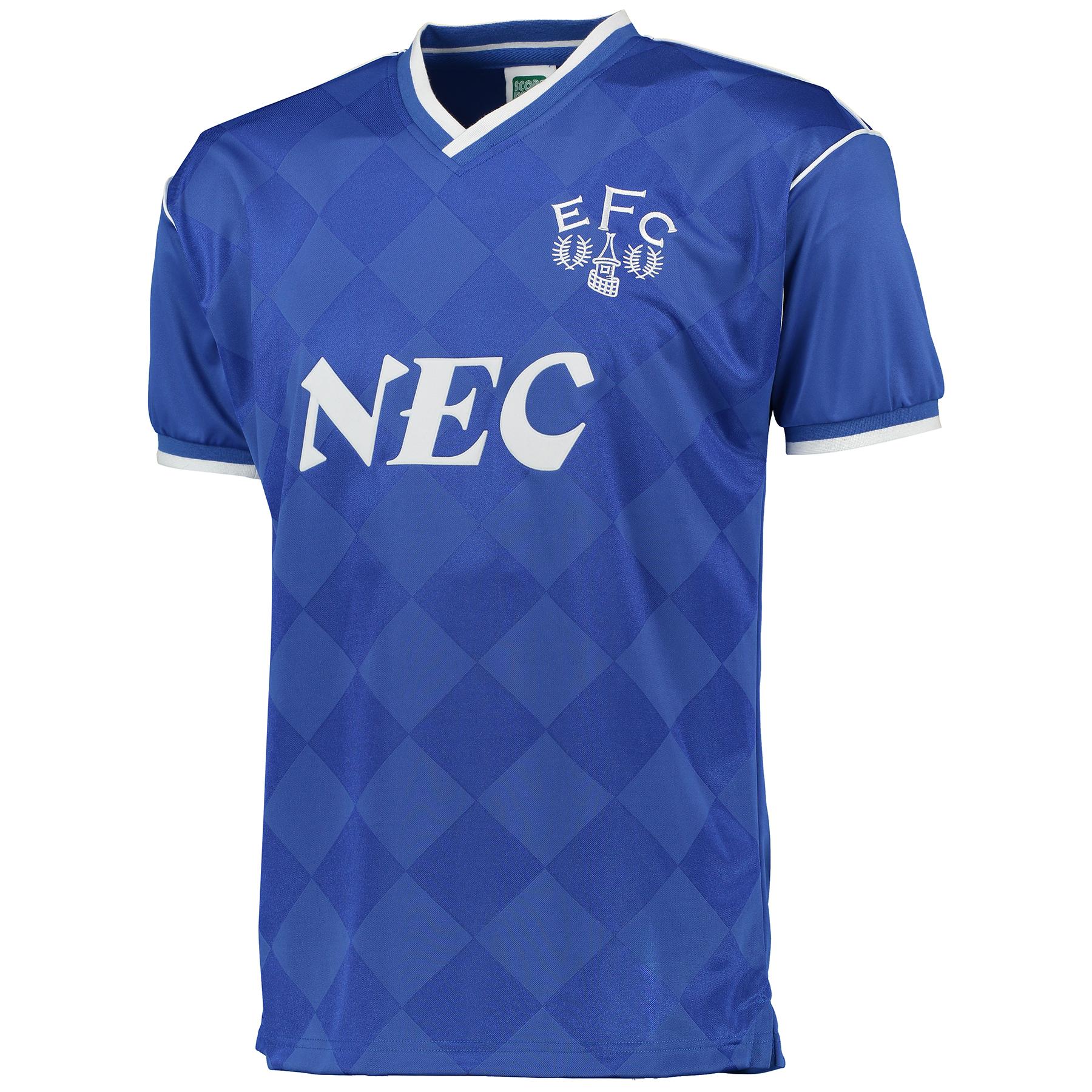 Everton 1987 League Champions Shirt - Blue