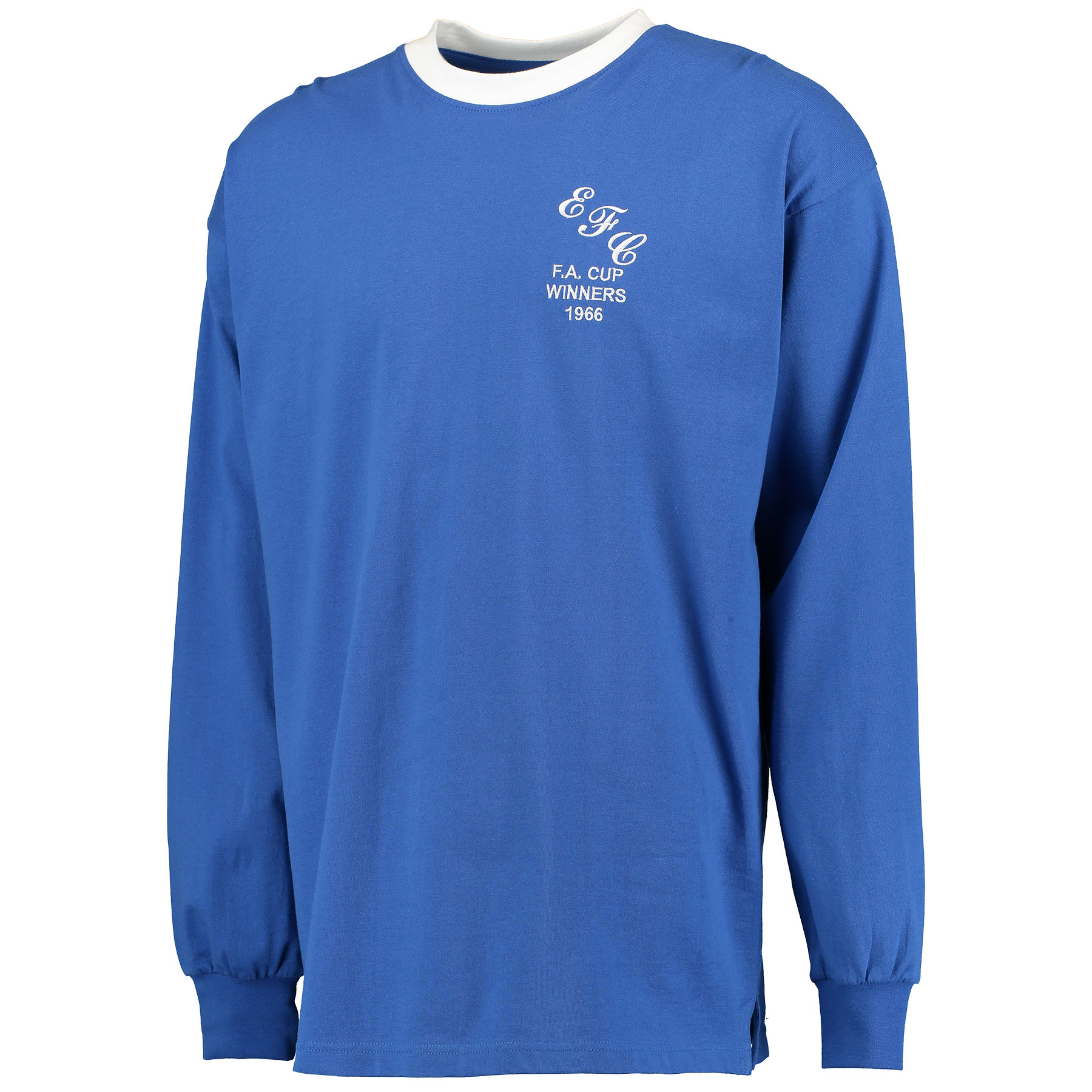 Everton 1966 FA Cup Winners Shirt - Blue