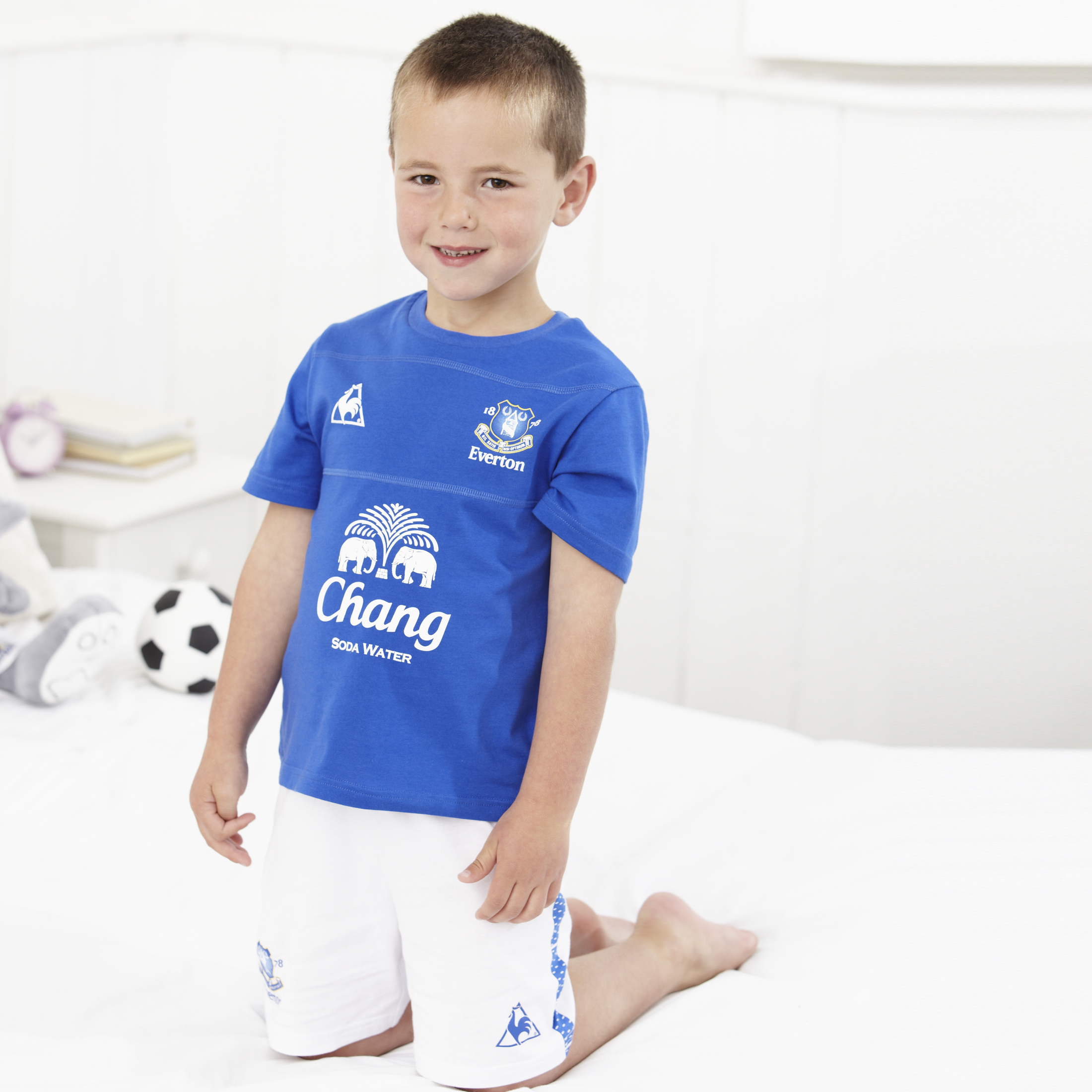 Everton Kit Pyjama Everton Blue White Boys.