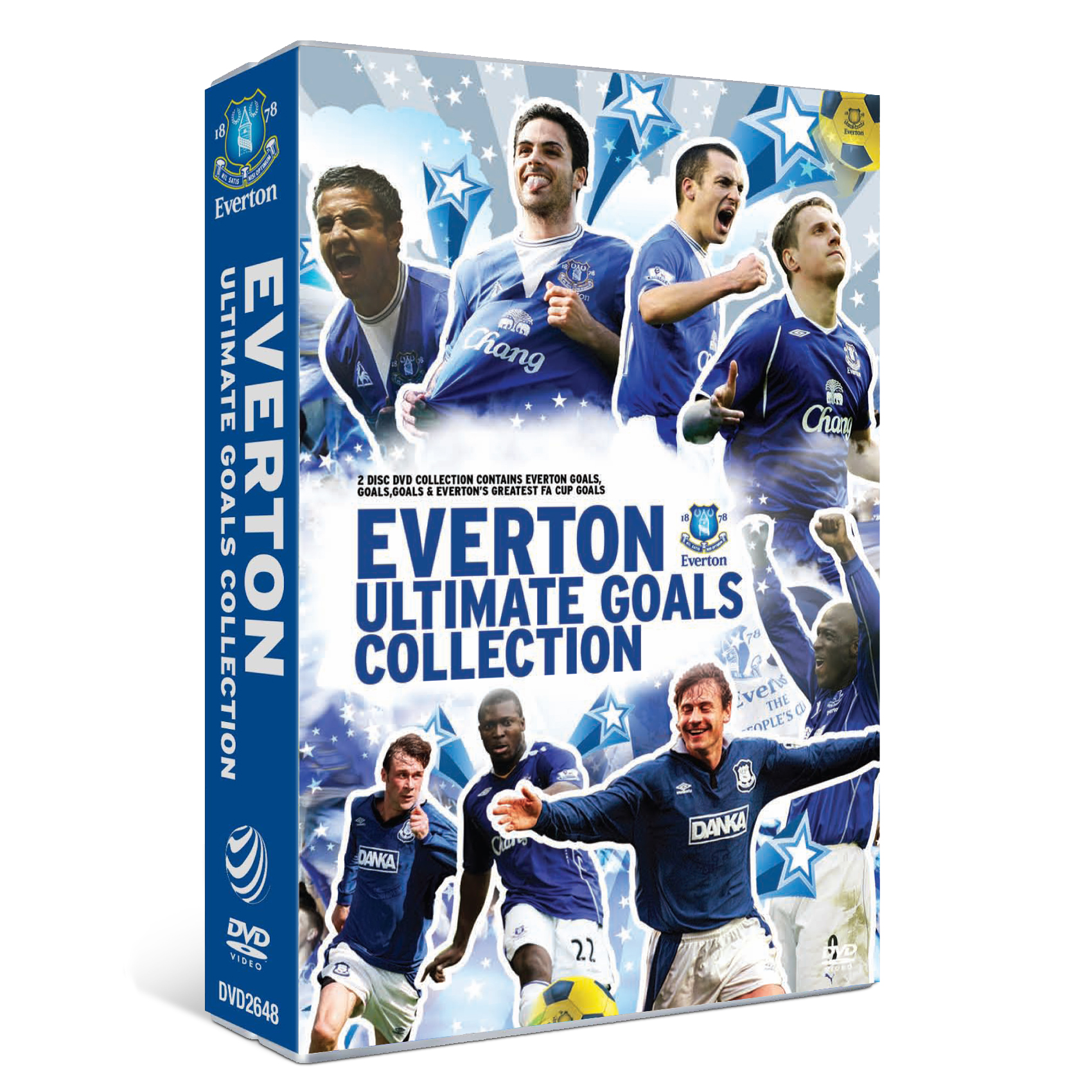 Evertons Ultimate Goals Selection DVD Box Set
