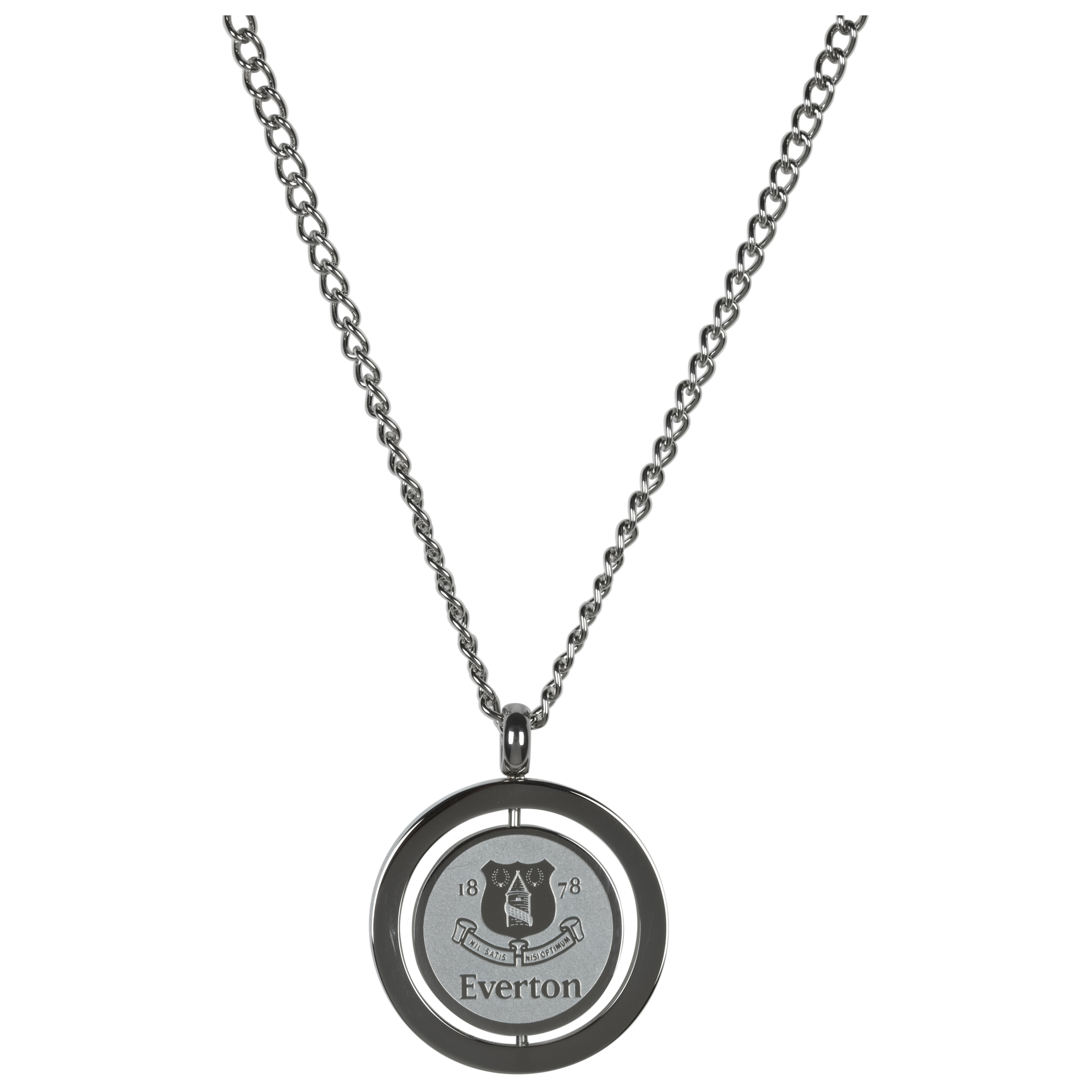 Everton Stainless Steel Spinner Pendant