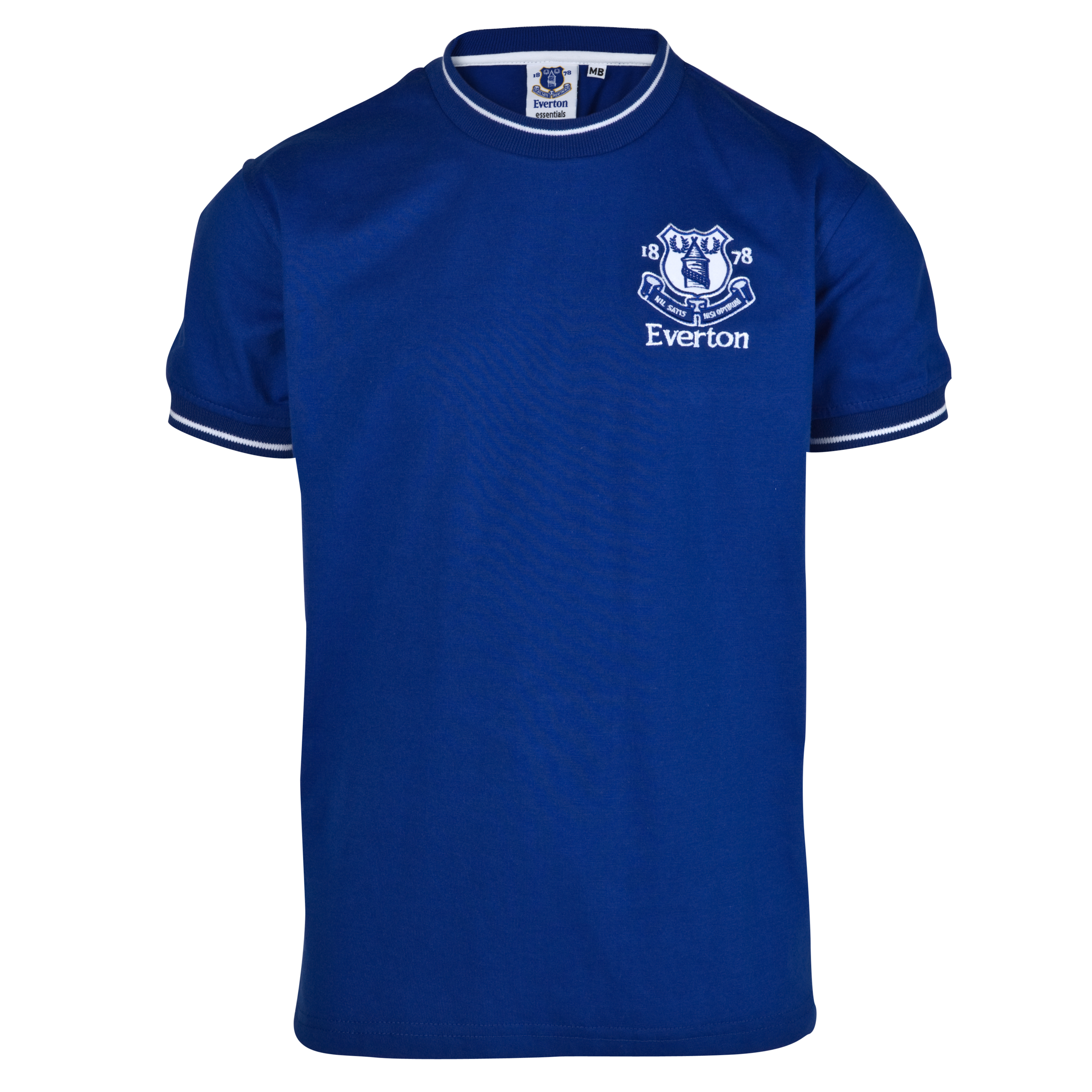Everton Essential Jackal T-Shirt - Royal - Older Boys