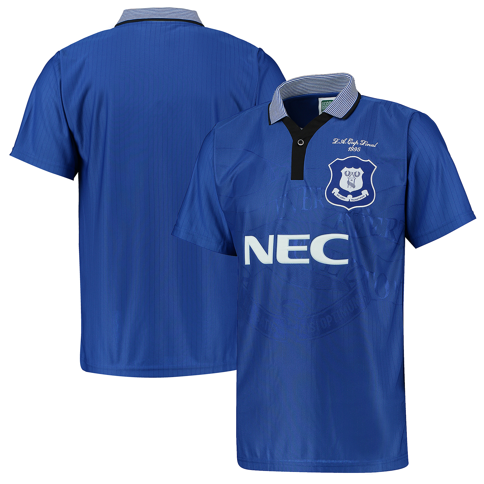 Image of Everton 1995 FA Cup Winners Shirt - Blue