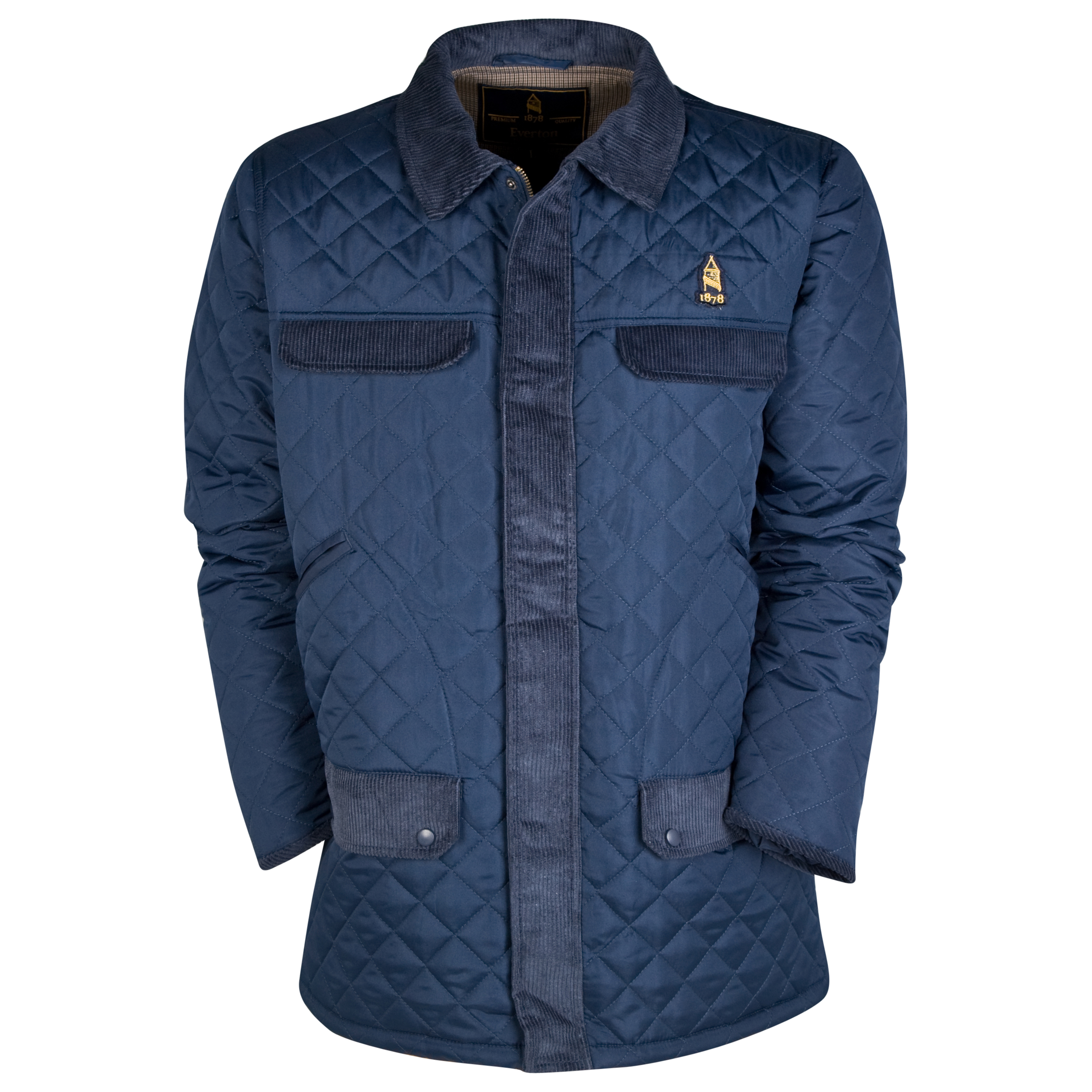 Everton Dartmoor Coat - Navy