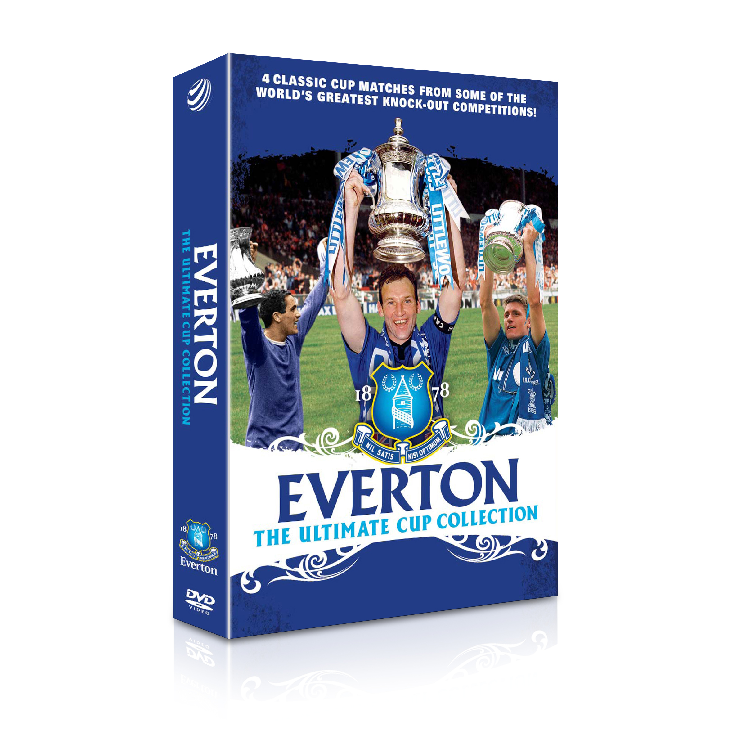 Everton Ultimate Cup Collection DVD