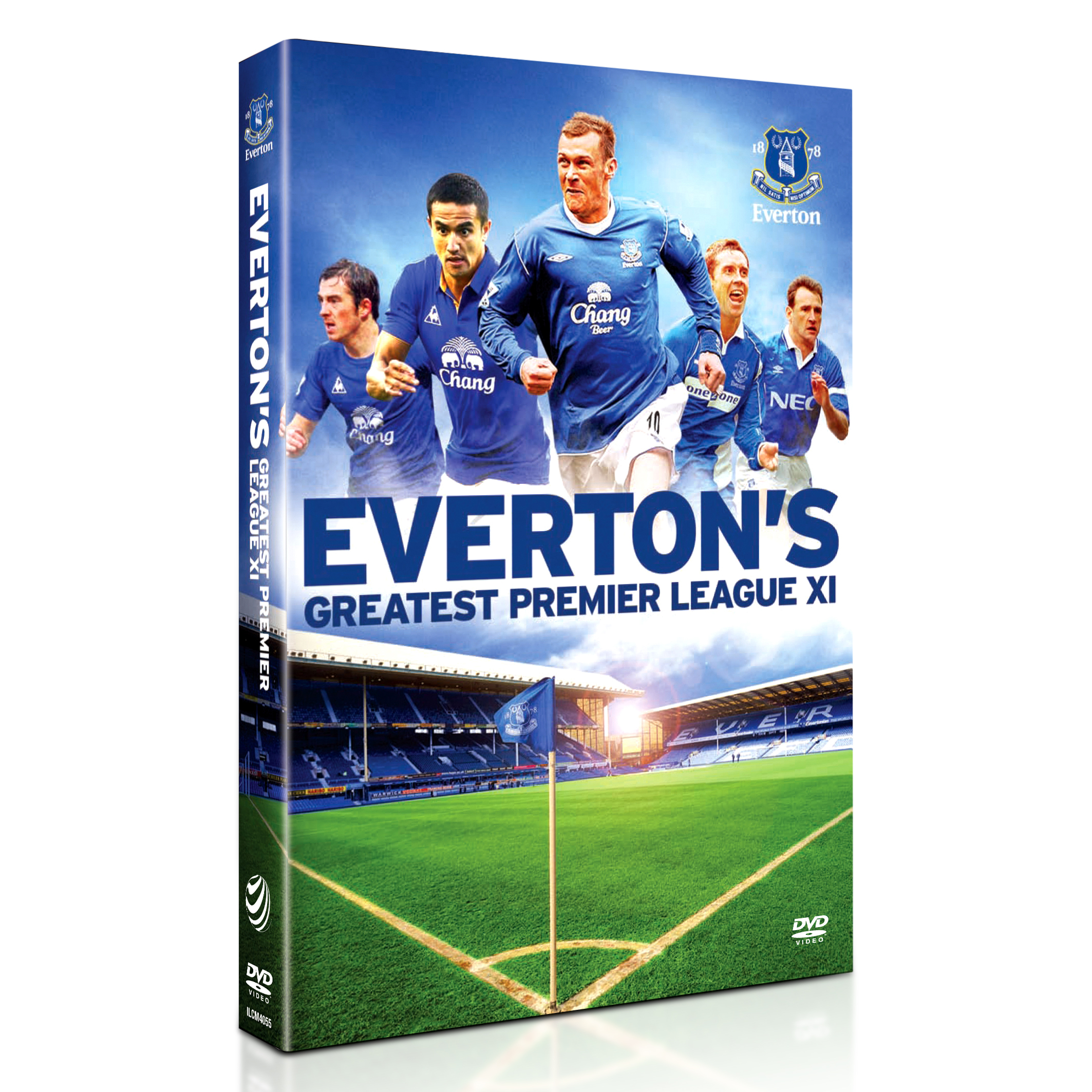 Everton Greatest Premier League XI DVD
