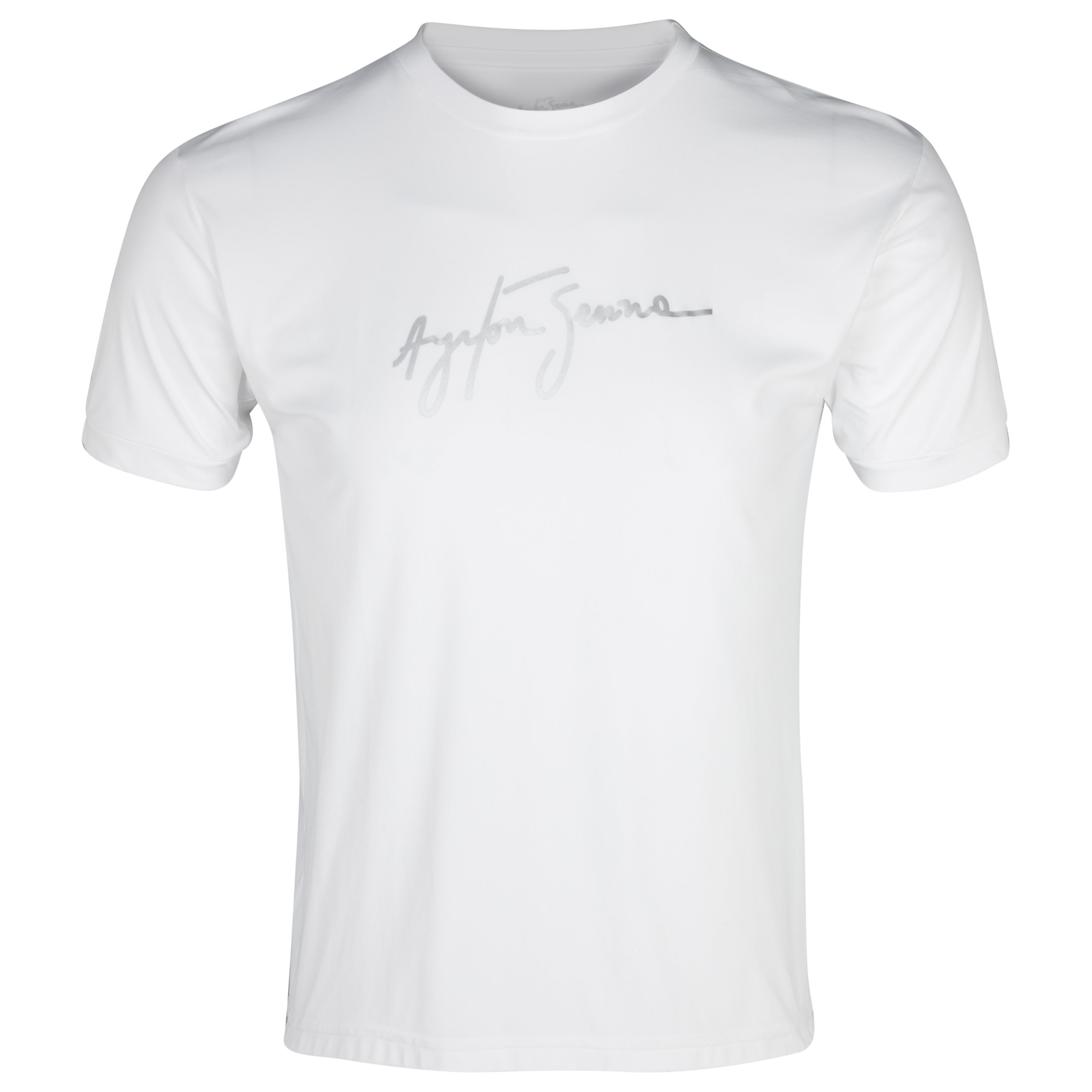 Ayrton Senna Dry Fit T-Shirt - White