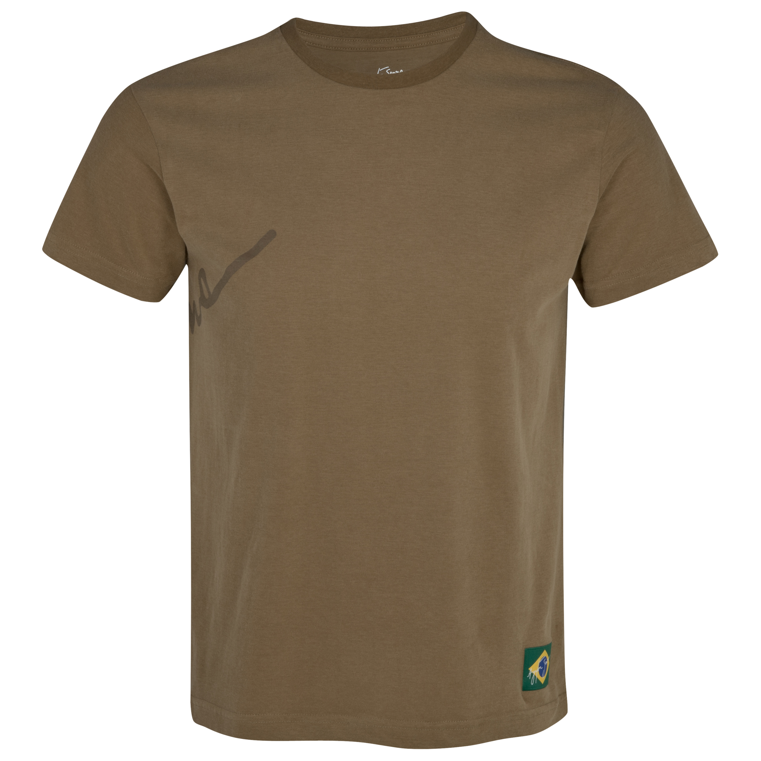 Ayrton Senna Back Signature T-Shirt - Brown