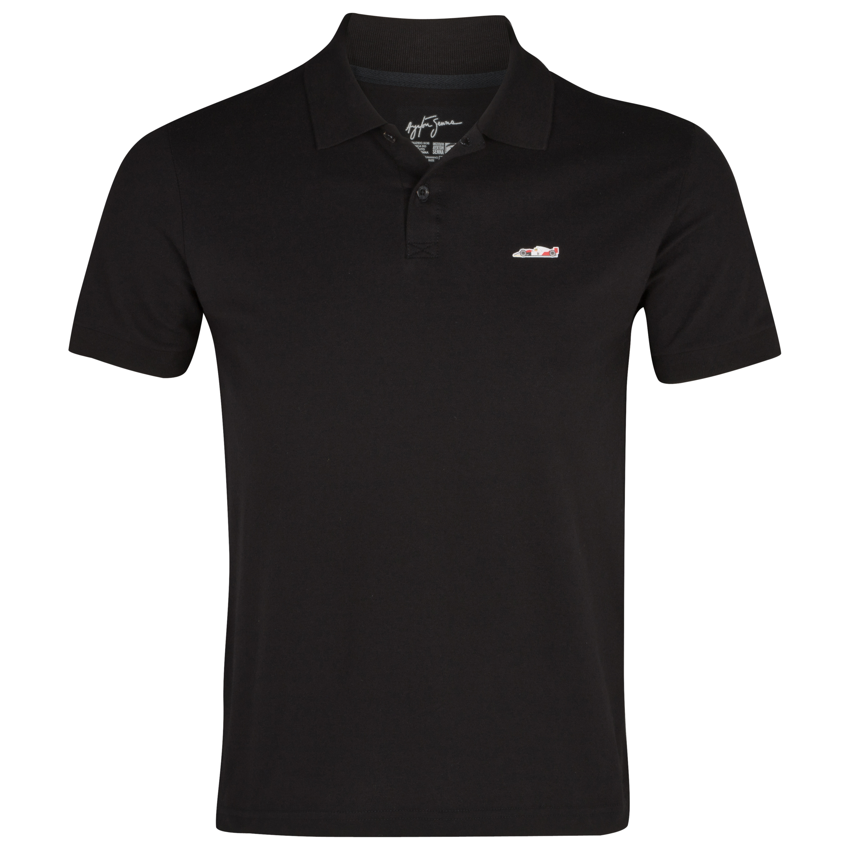 Ayrton Senna McLaren Polo - Black
