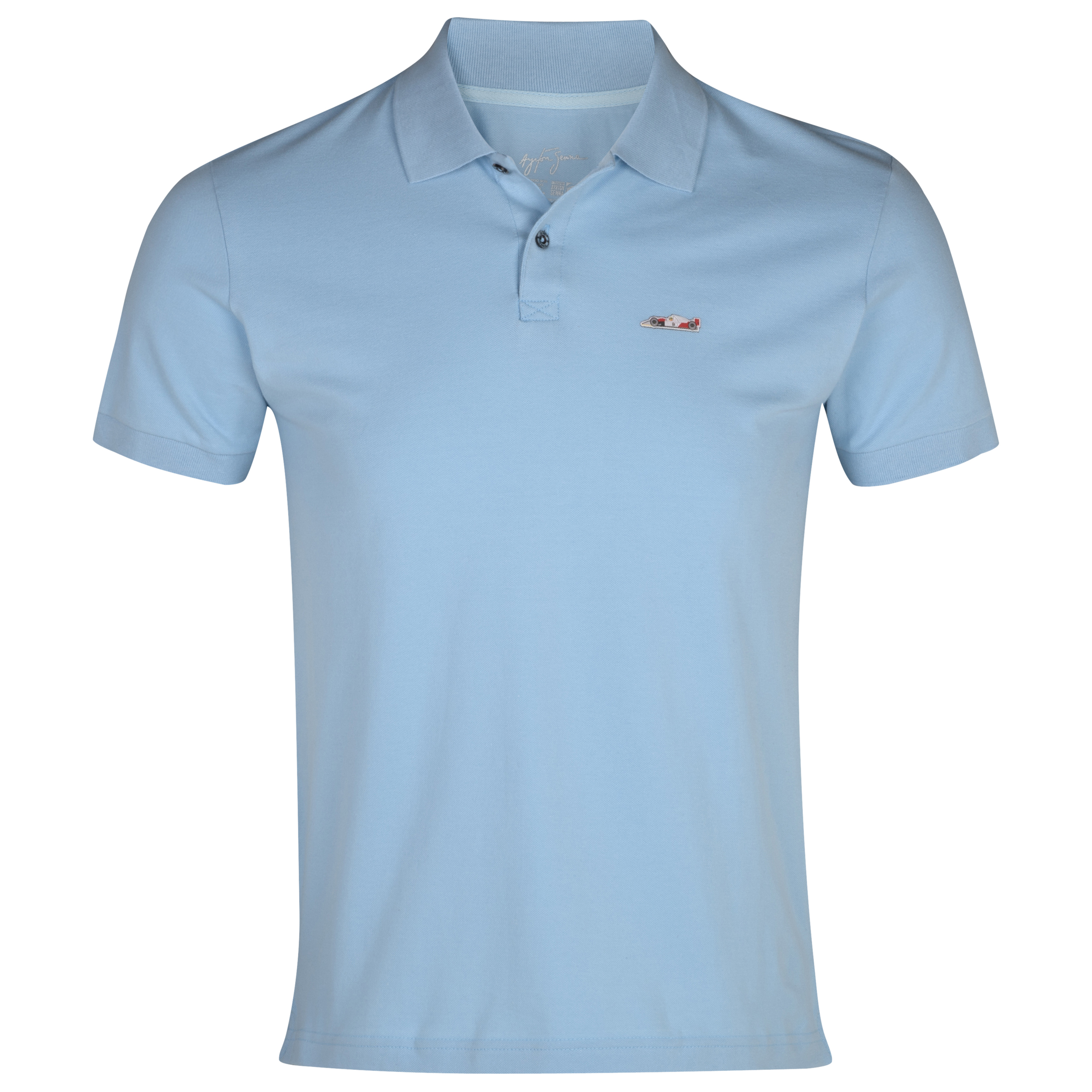 Ayrton Senna McLaren Polo - Blue