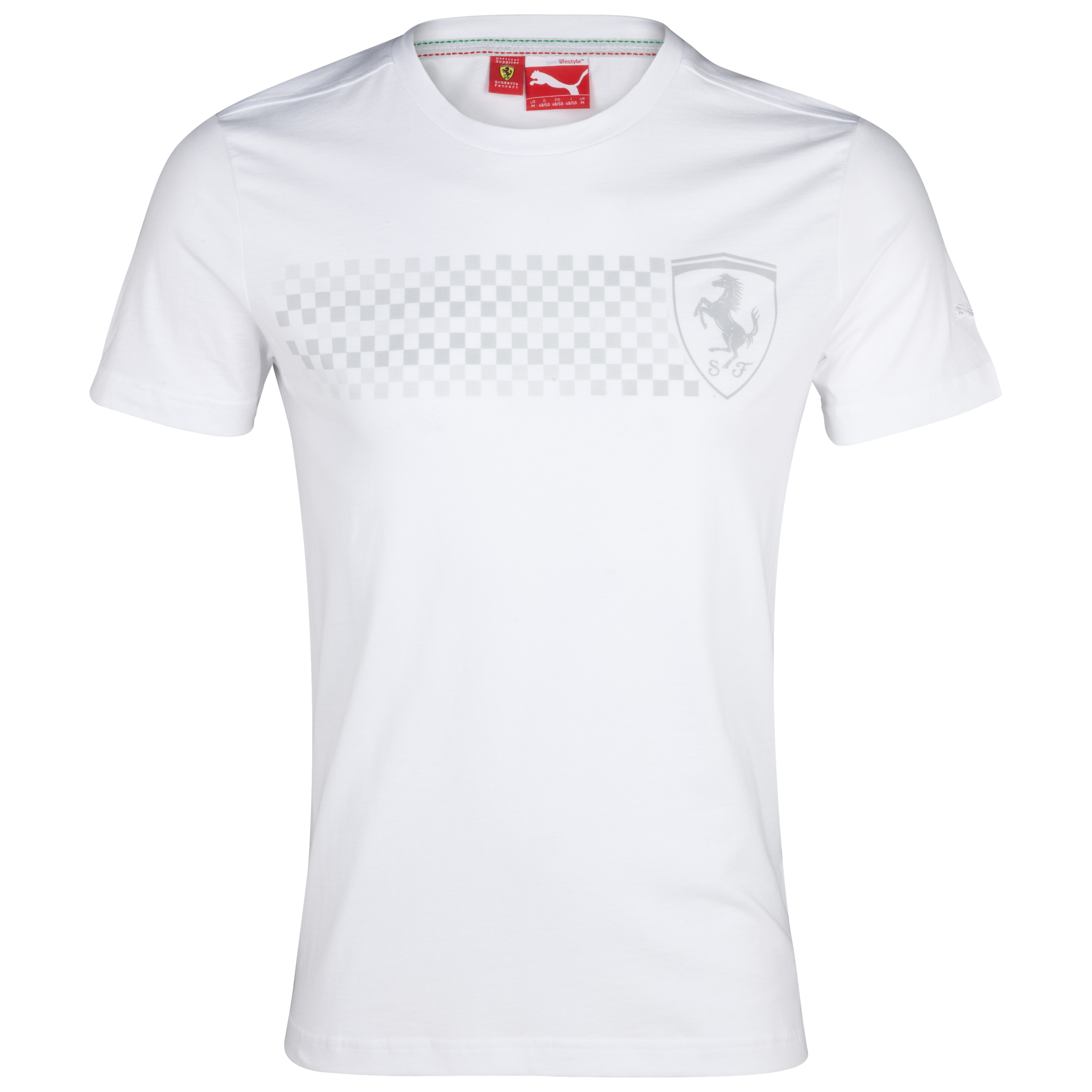 Scuderia Ferrari 2012 Puma Big Logo T-Shirt - White