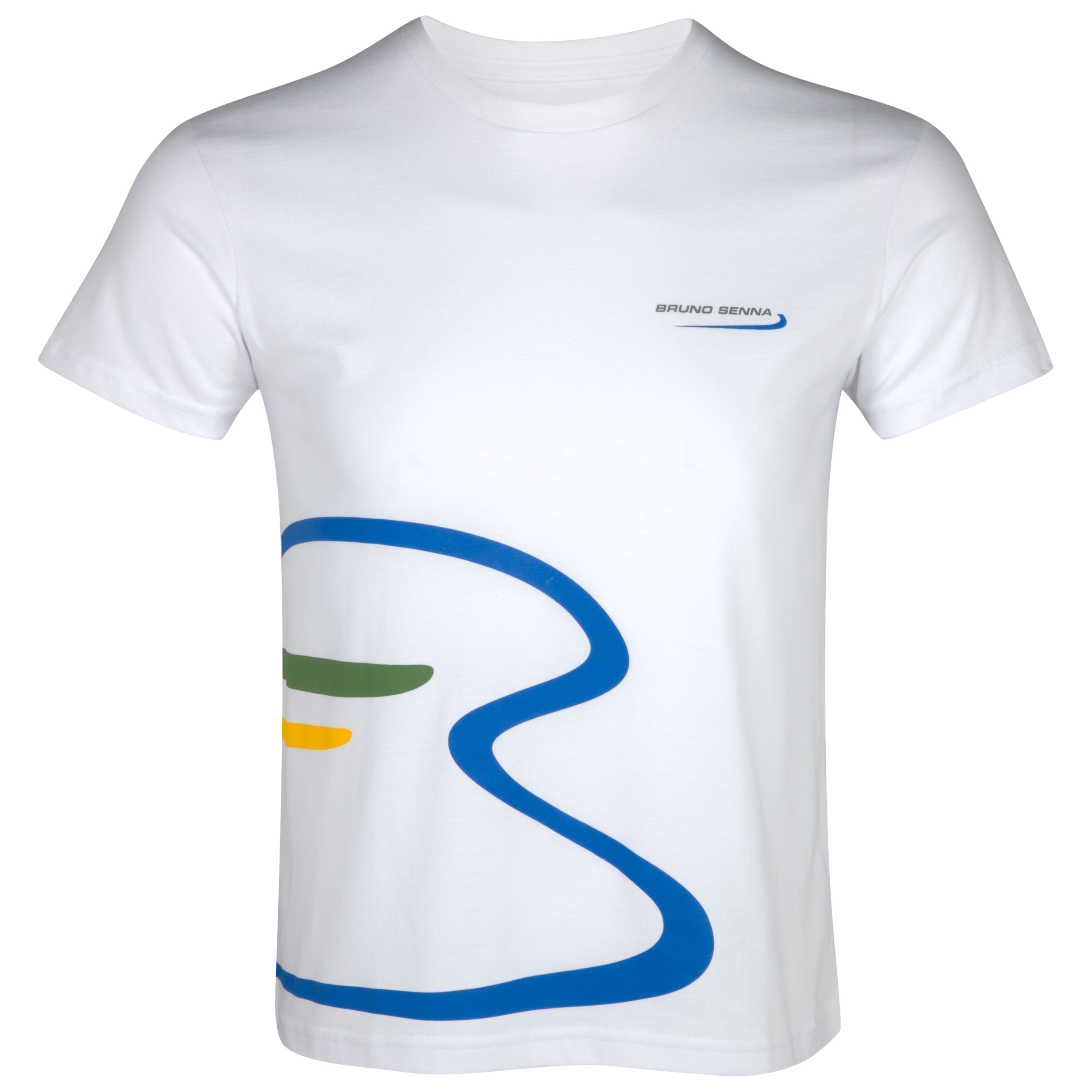 Bruno Senna Large Logo T-Shirt - White
